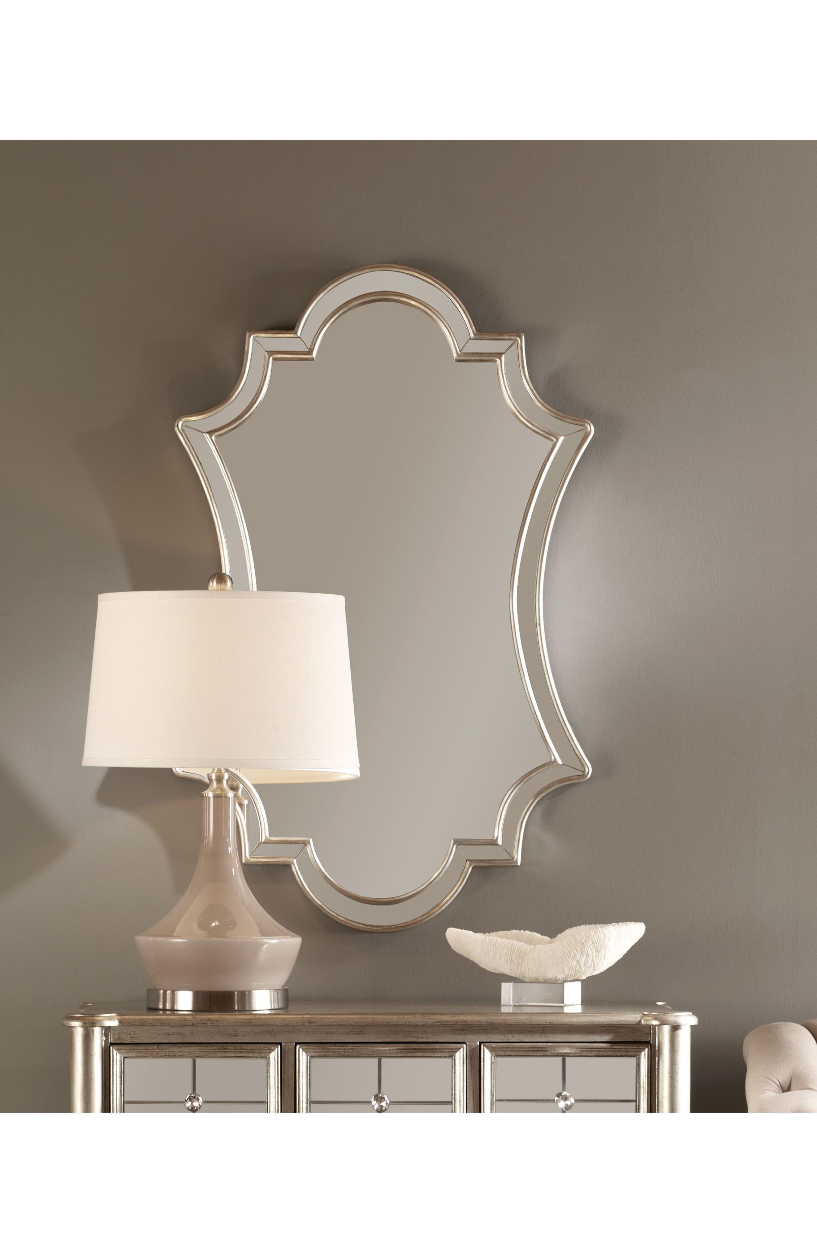 Elara Wall Mirror,                             Alternate thumbnail 3, color,                             020