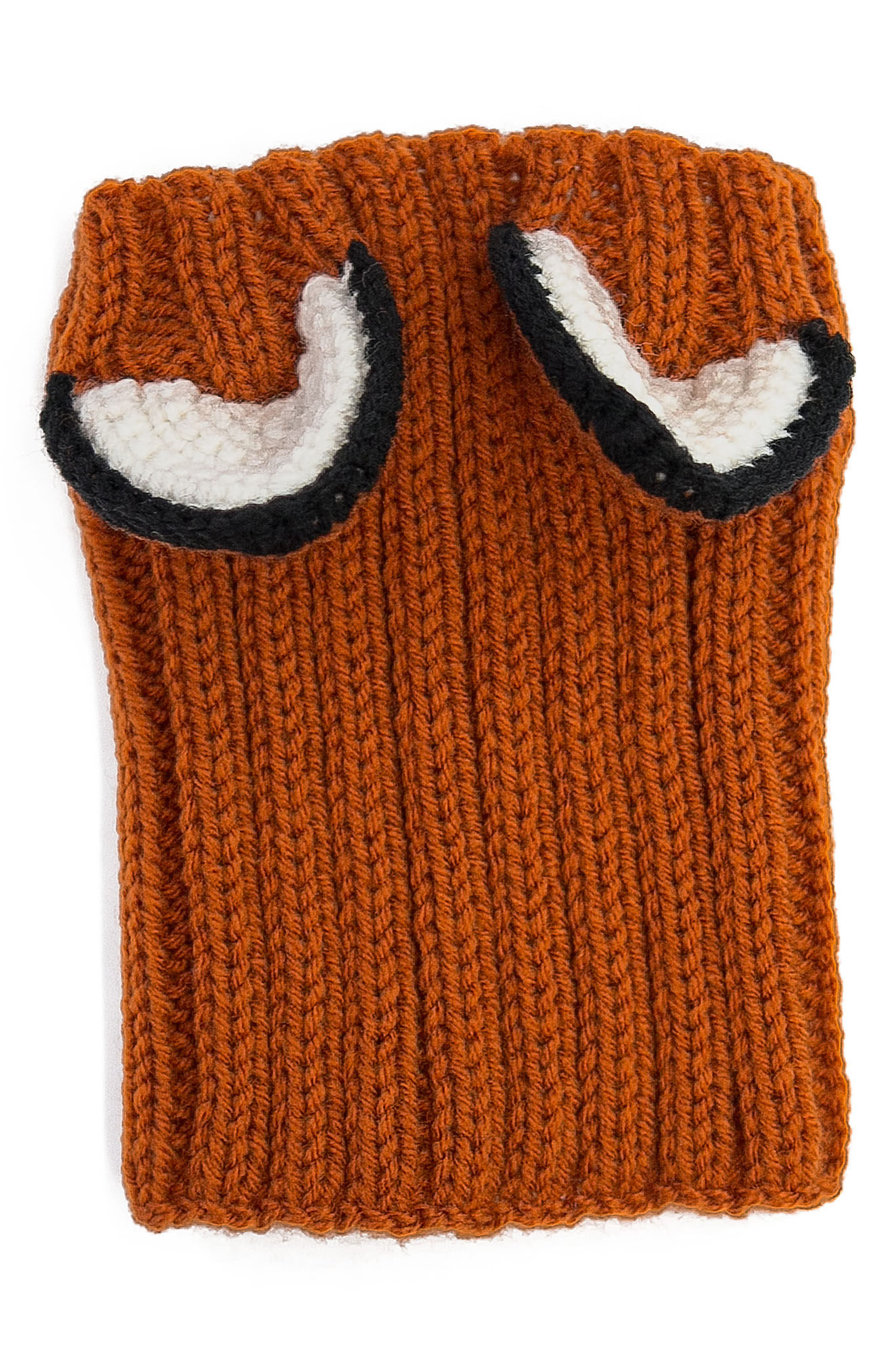 Fox Crochet Dog Snood,                             Alternate thumbnail 3, color,                             800