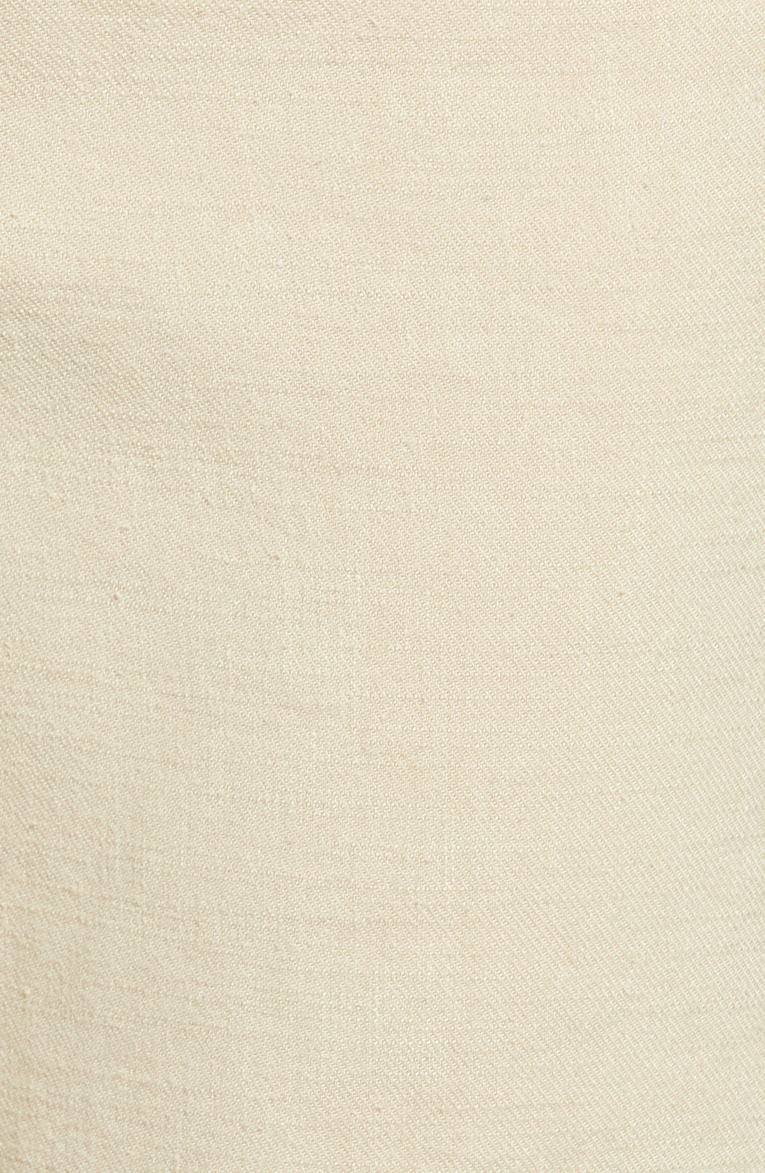 Stretch Linen Blend Bermuda Shorts,                             Alternate thumbnail 14, color,