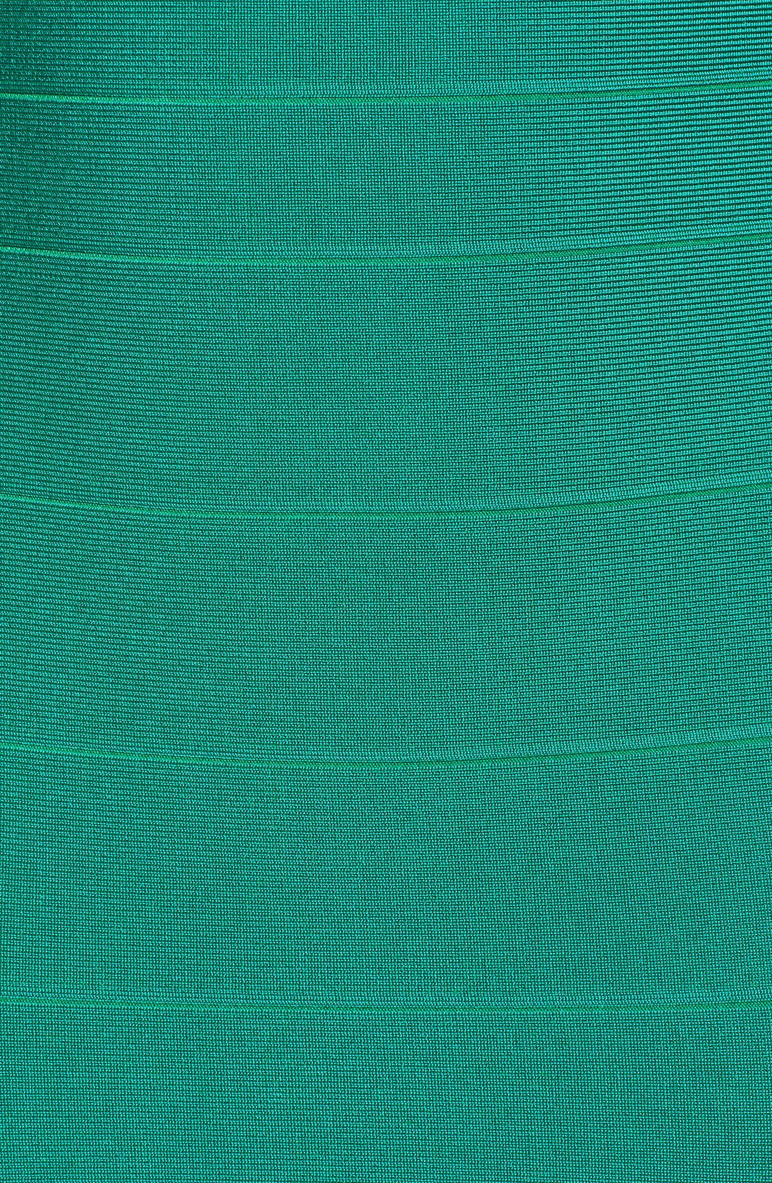 SENTIMENTAL NY,                             Bandage Body-Con Dress,                             Alternate thumbnail 6, color,                             GREEN