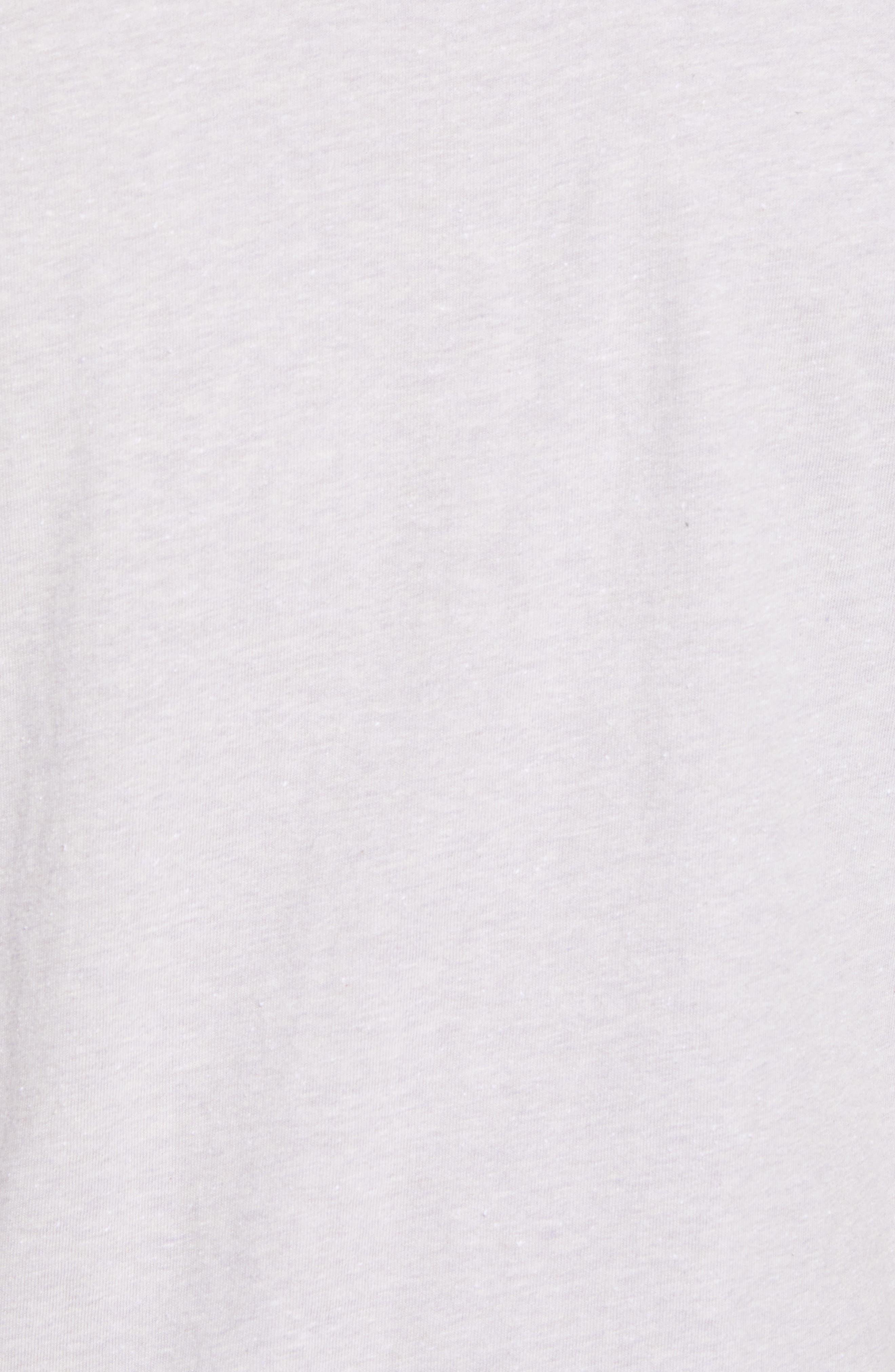 James Crewneck T-Shirt,                             Alternate thumbnail 5, color,                             525