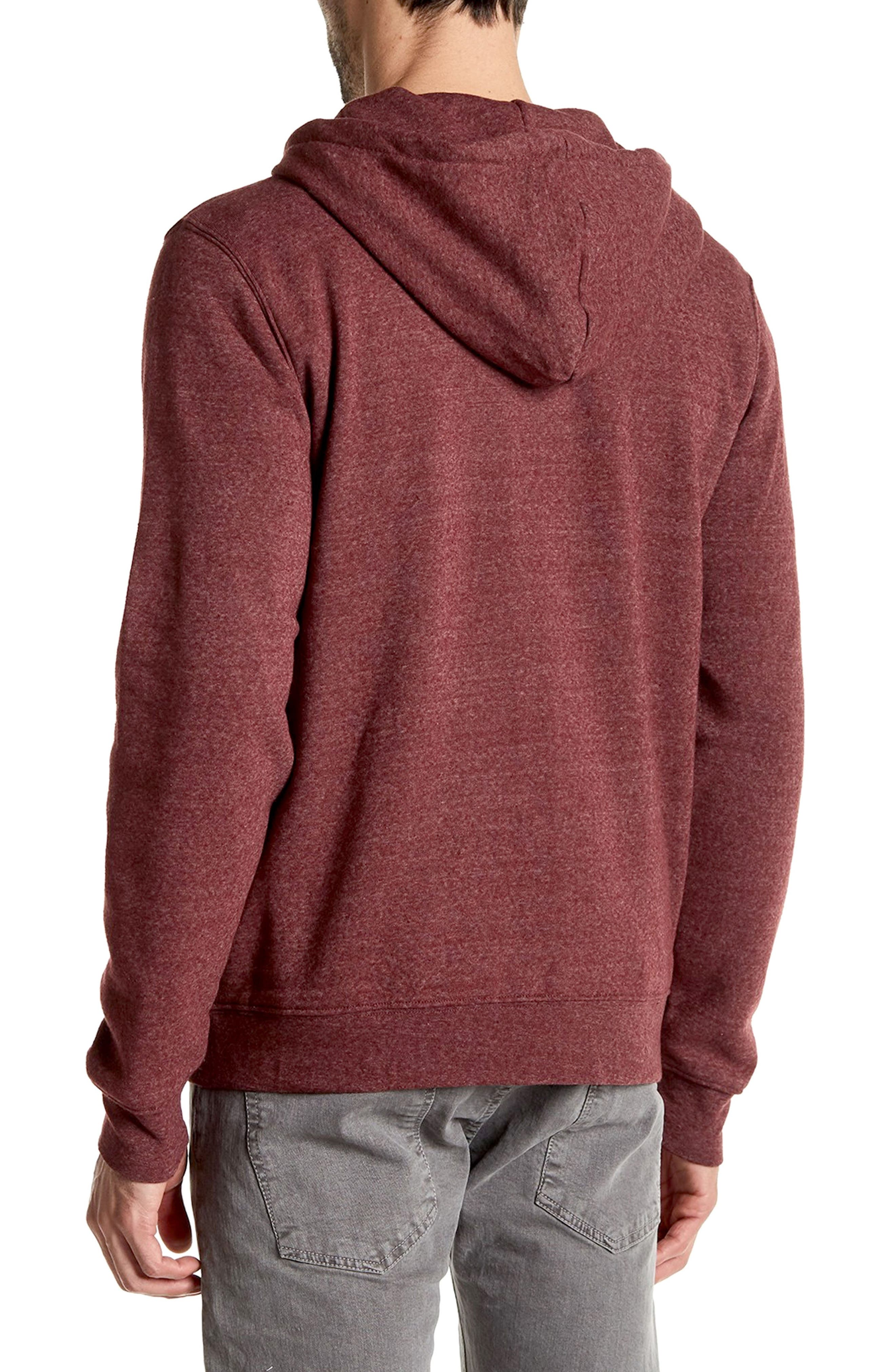 Threads for Thought Trim Fit Heathered Hoodie,                             Alternate thumbnail 34, color,