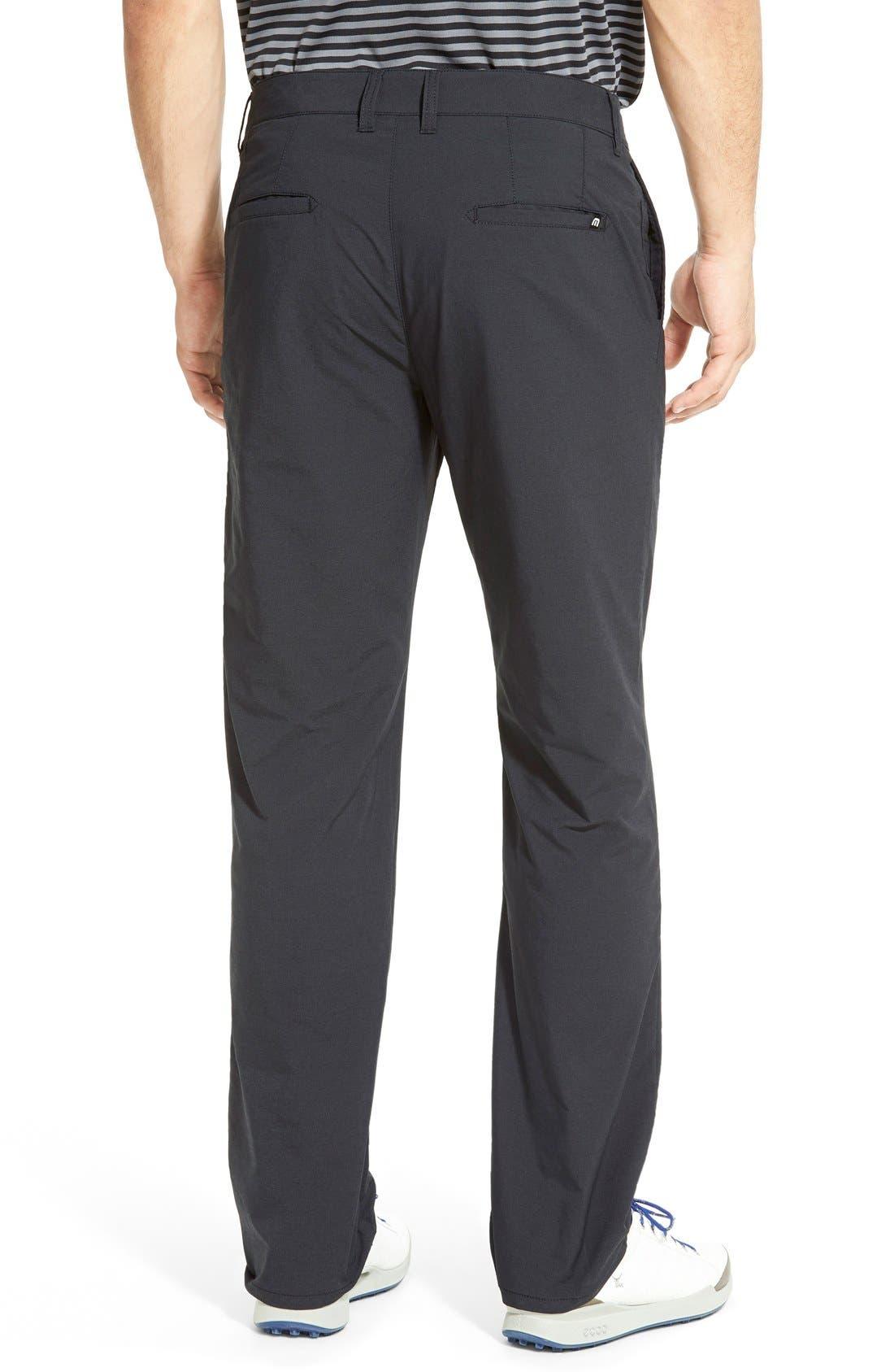 'Hough' Trim Fit Golf Pants,                             Alternate thumbnail 3, color,                             001
