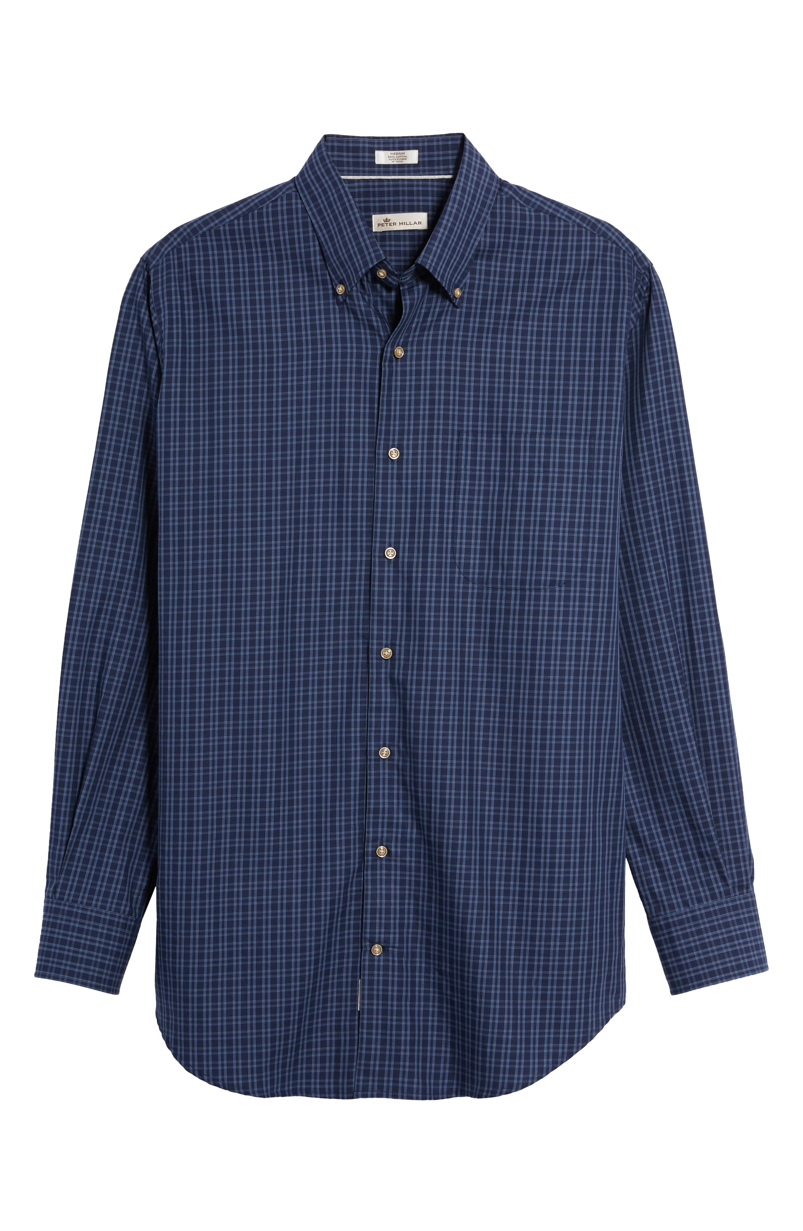 Autumn Check Regular Fit Sport Shirt,                             Alternate thumbnail 6, color,                             415