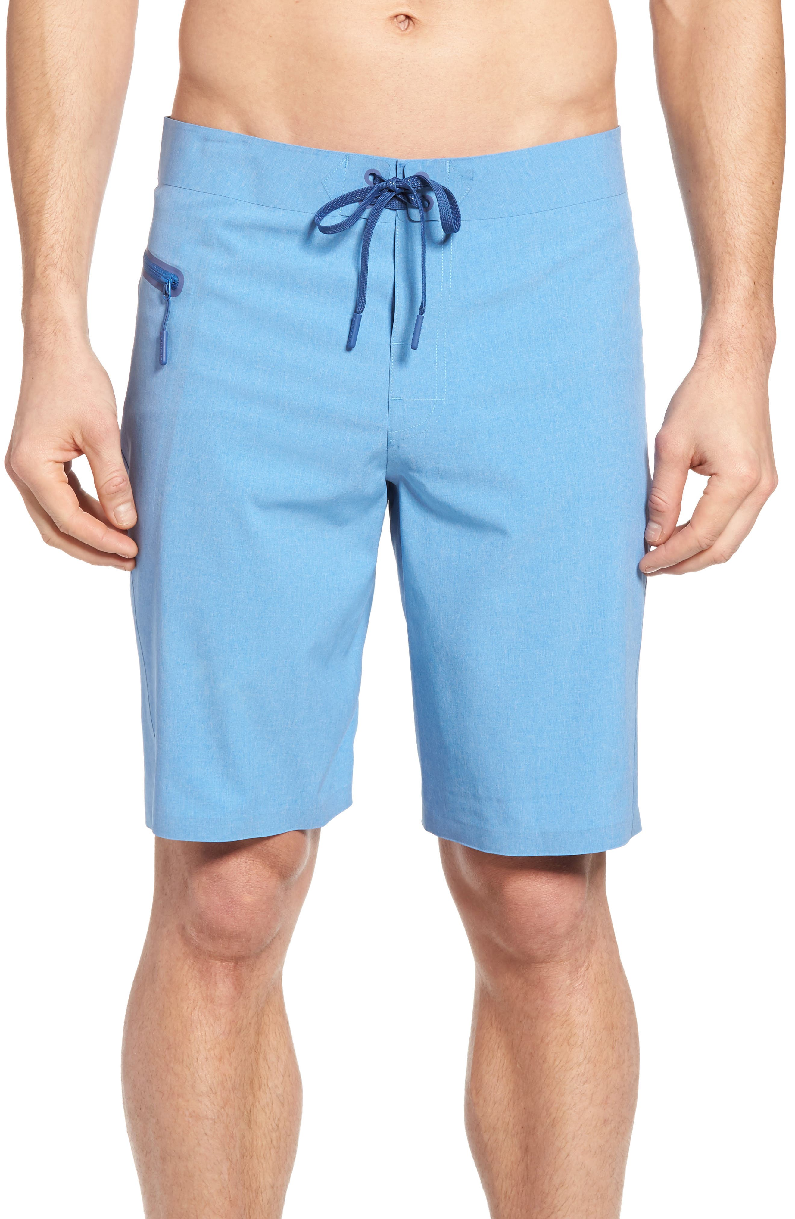 Heather Stretch Board Shorts,                             Main thumbnail 3, color,