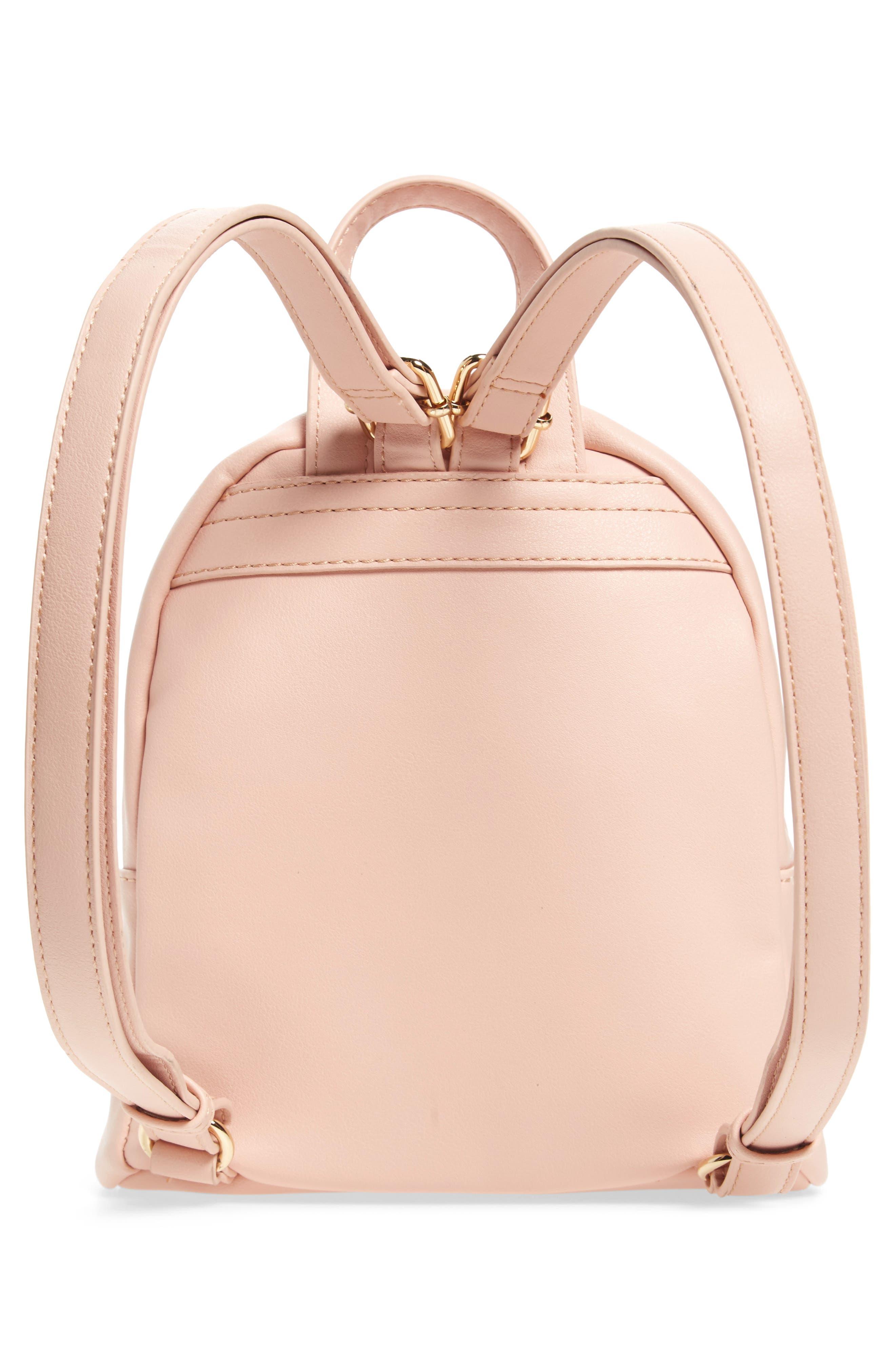Faux Leather Mini Backpack,                             Alternate thumbnail 24, color,