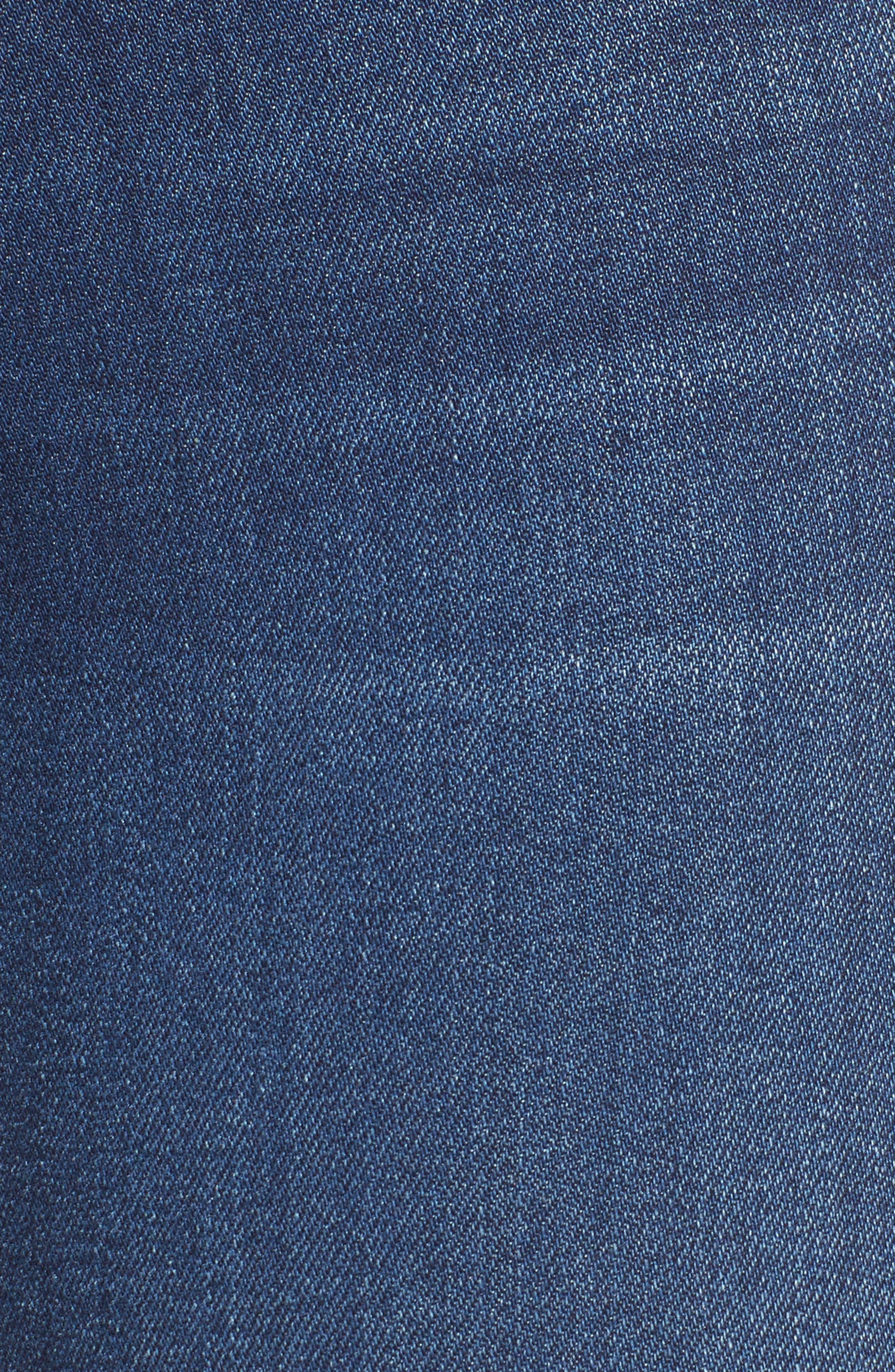 Hudson Nico Mid Rise Super Skinny Jeans,                             Alternate thumbnail 6, color,                             420