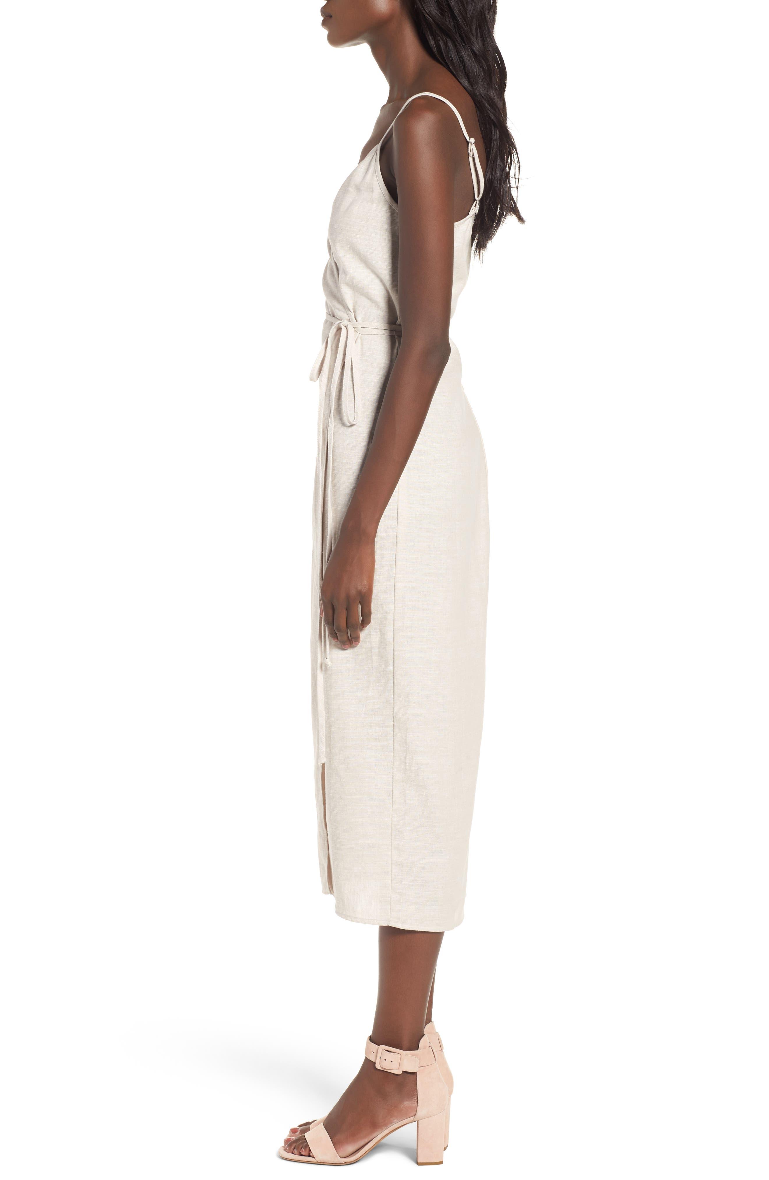 Wrap Midi Dress,                             Alternate thumbnail 10, color,