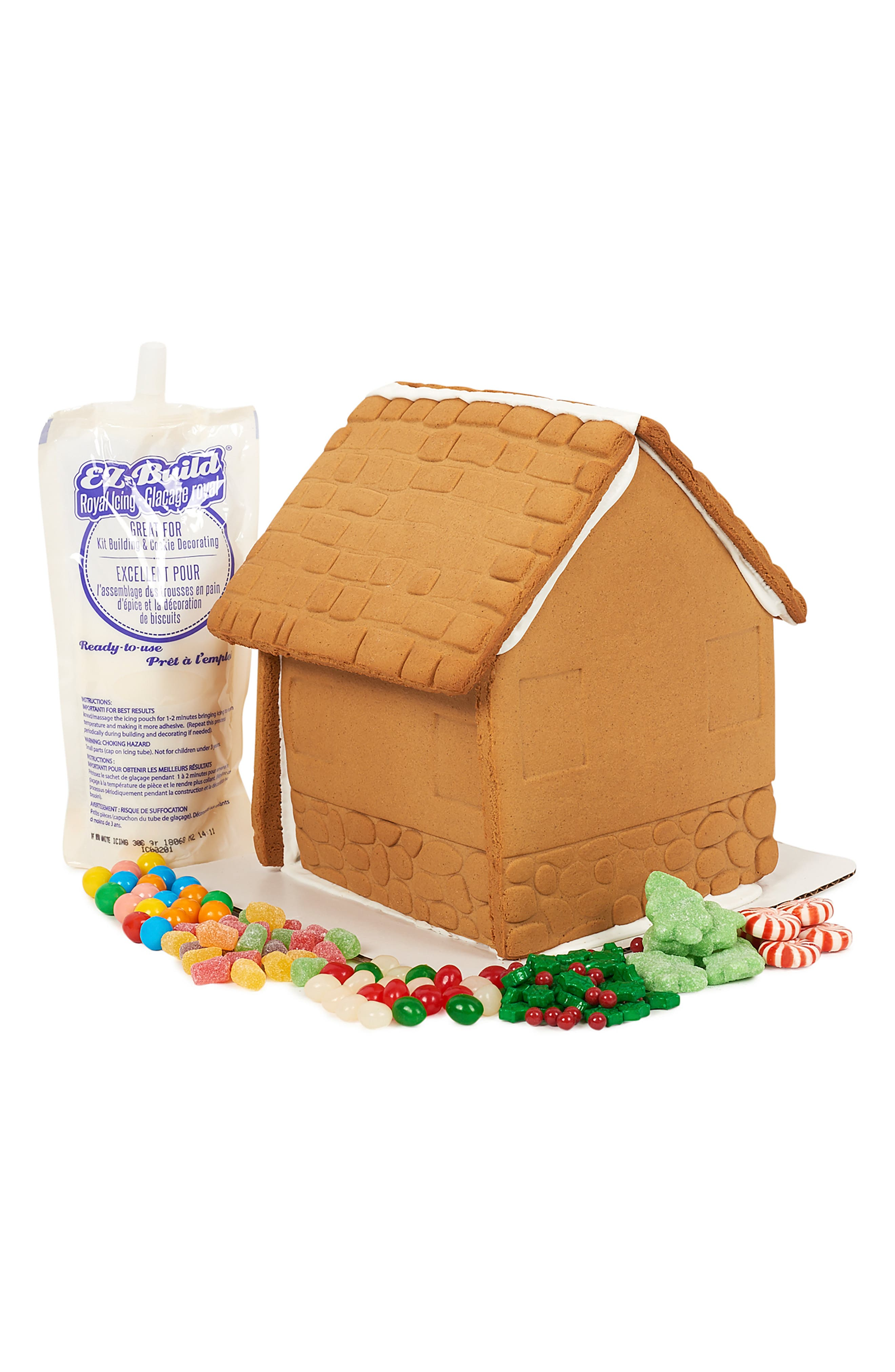 Holiday 2018 Preassembled Gingerbread House Kit,                             Alternate thumbnail 2, color,                             200
