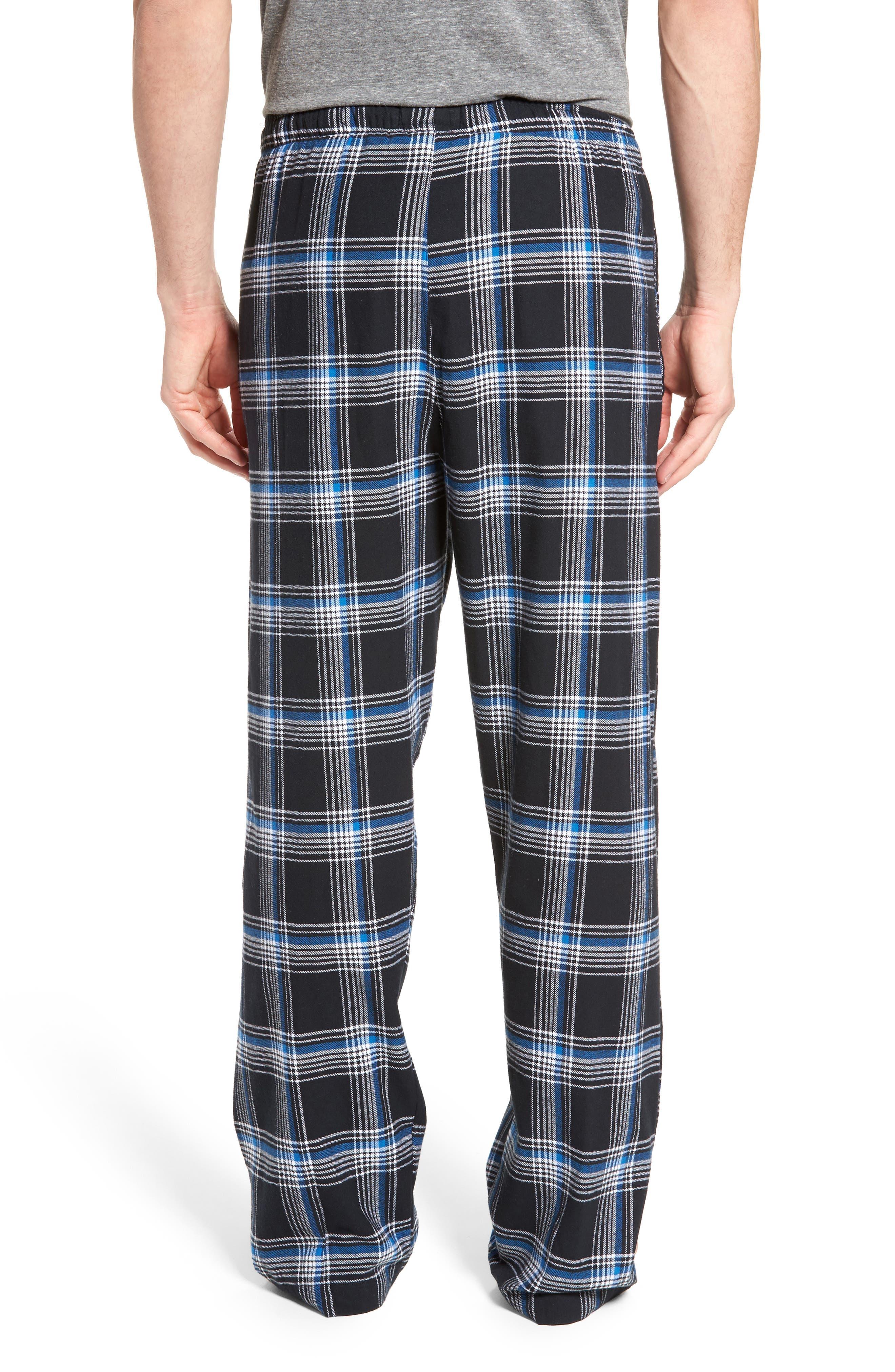 Flannel Pajama Pants,                             Alternate thumbnail 19, color,