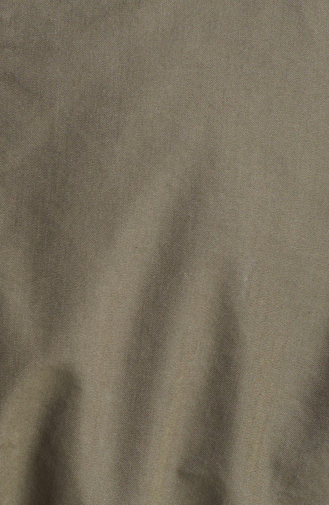 ASHLEY B,                             Coated Sleeve Parka with Down Jacket,                             Alternate thumbnail 4, color,                             303