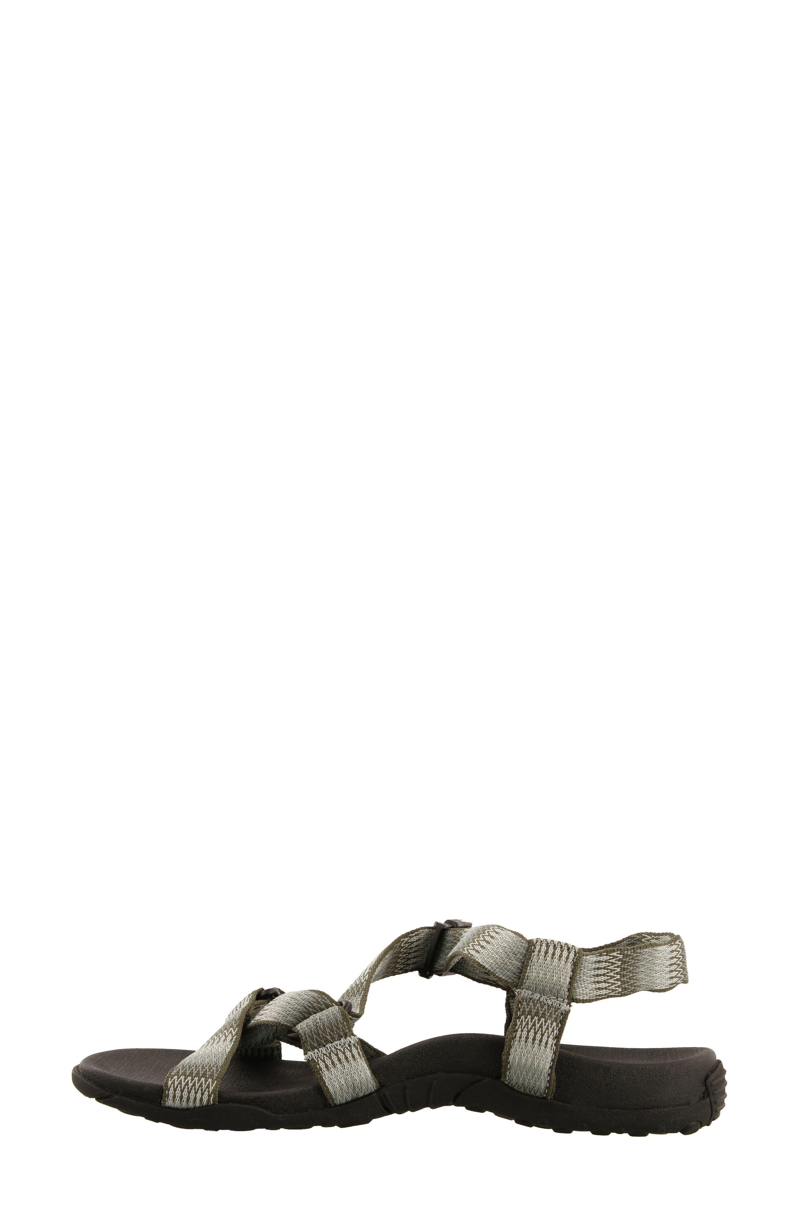 New Wave Sandal,                             Alternate thumbnail 5, color,                             SAGE FABRIC