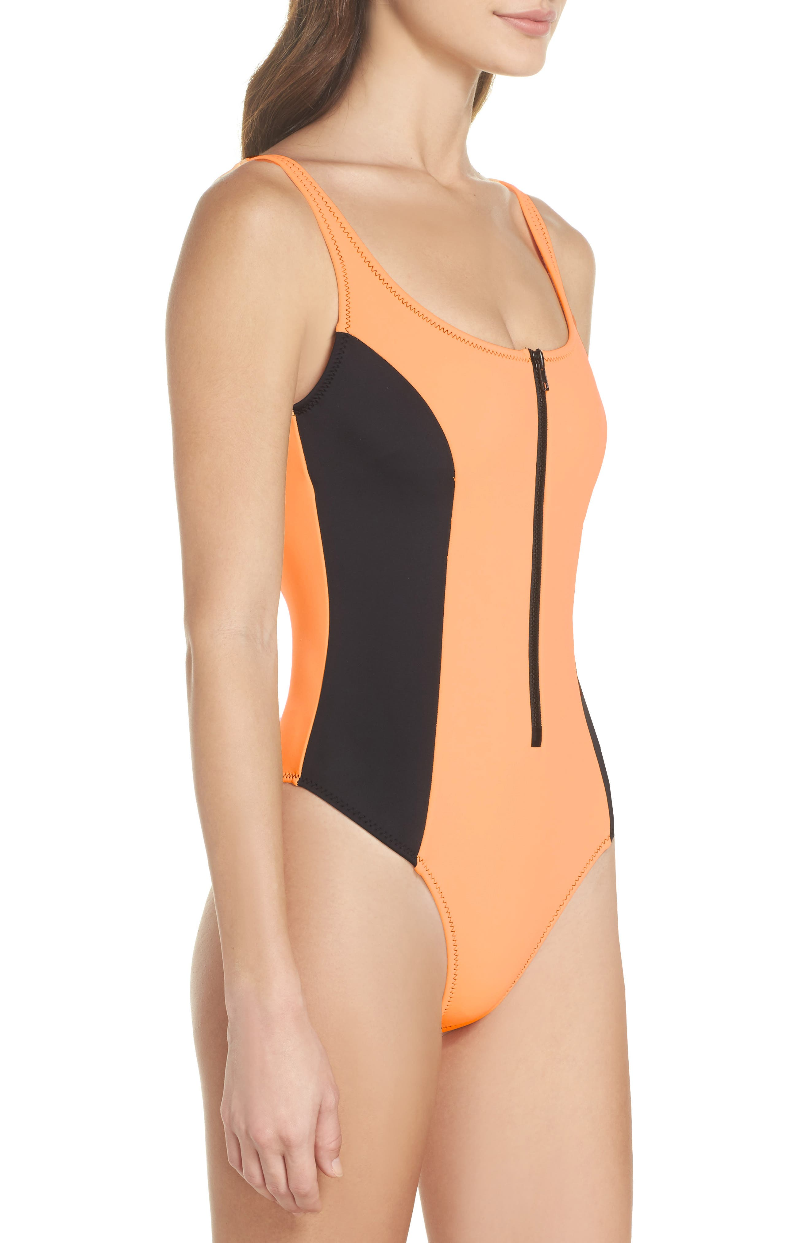 Time After Time One-Piece Swimsuit,                             Alternate thumbnail 3, color,                             816