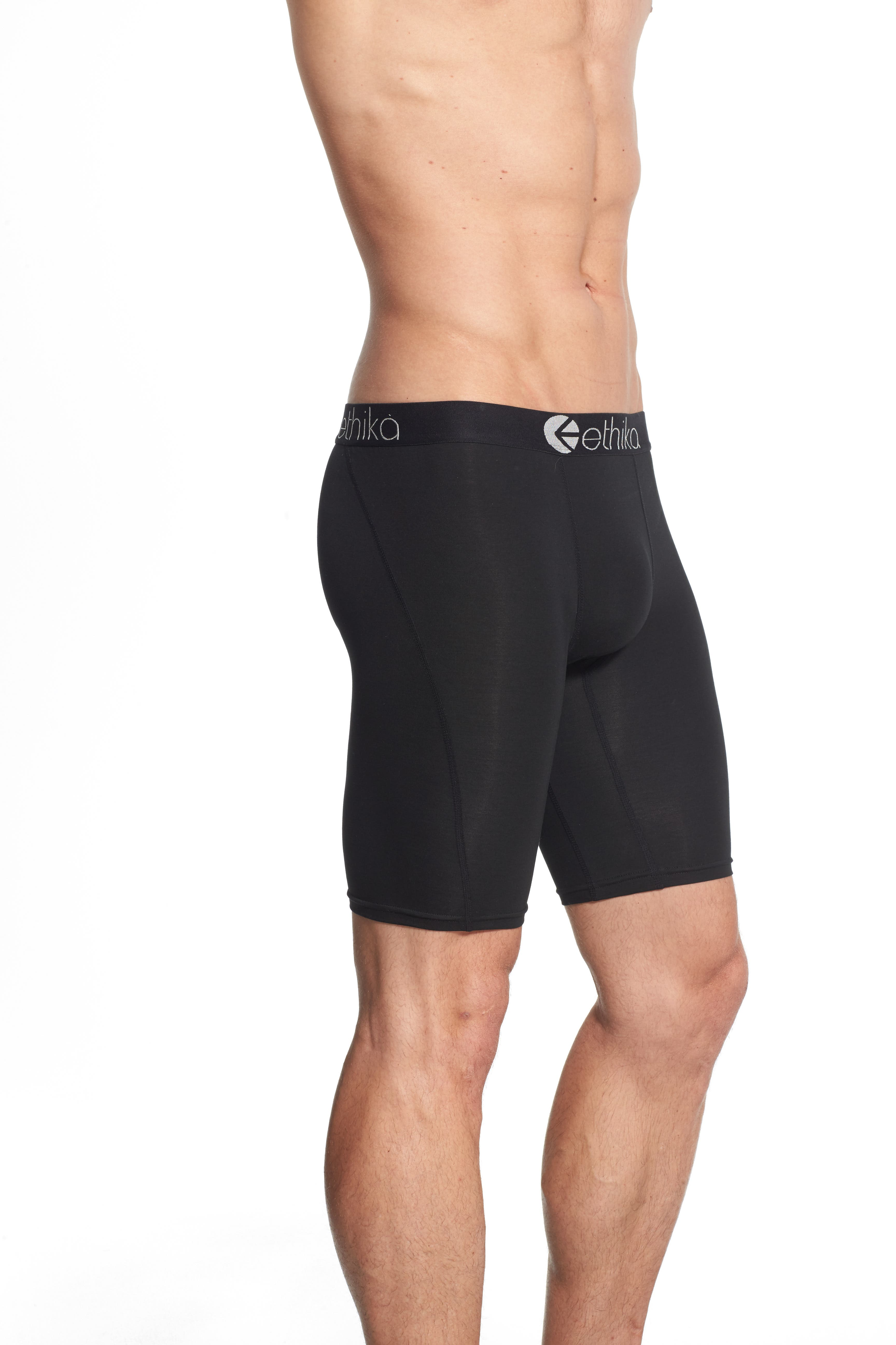 Solid Stretch Modal Boxer Briefs,                             Alternate thumbnail 6, color,