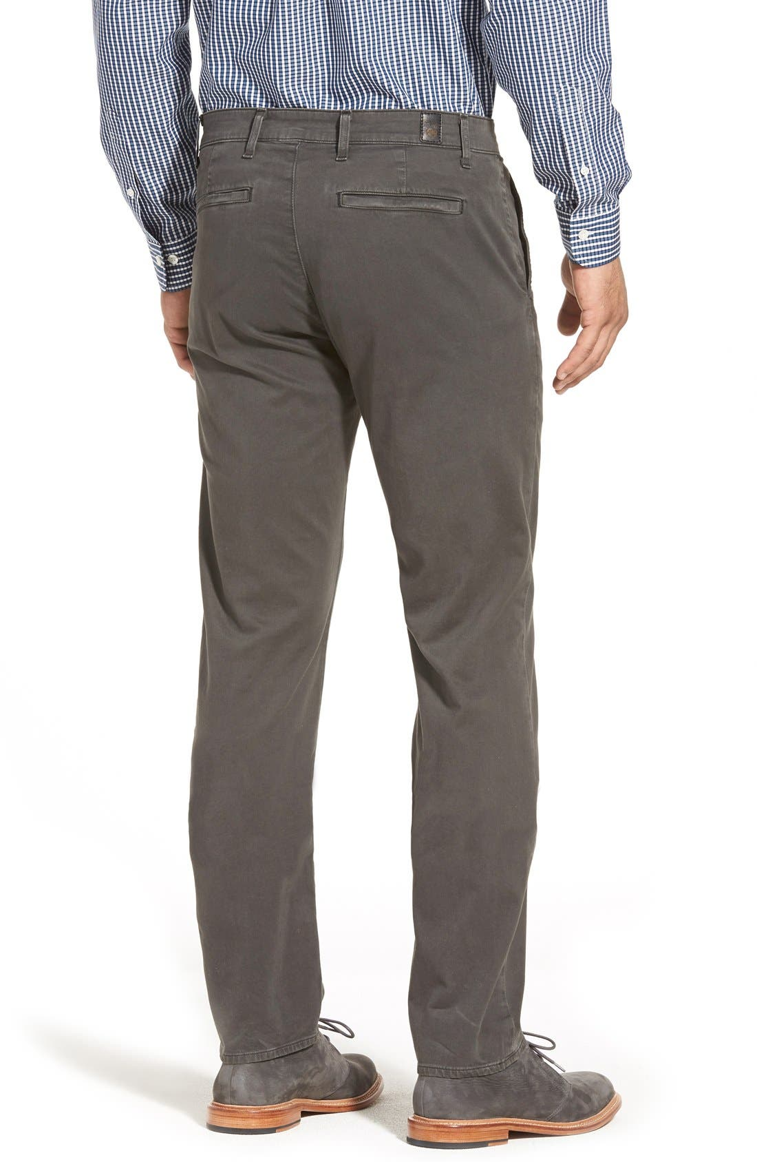 'The Lux' Tailored Straight Leg Chinos,                             Alternate thumbnail 21, color,
