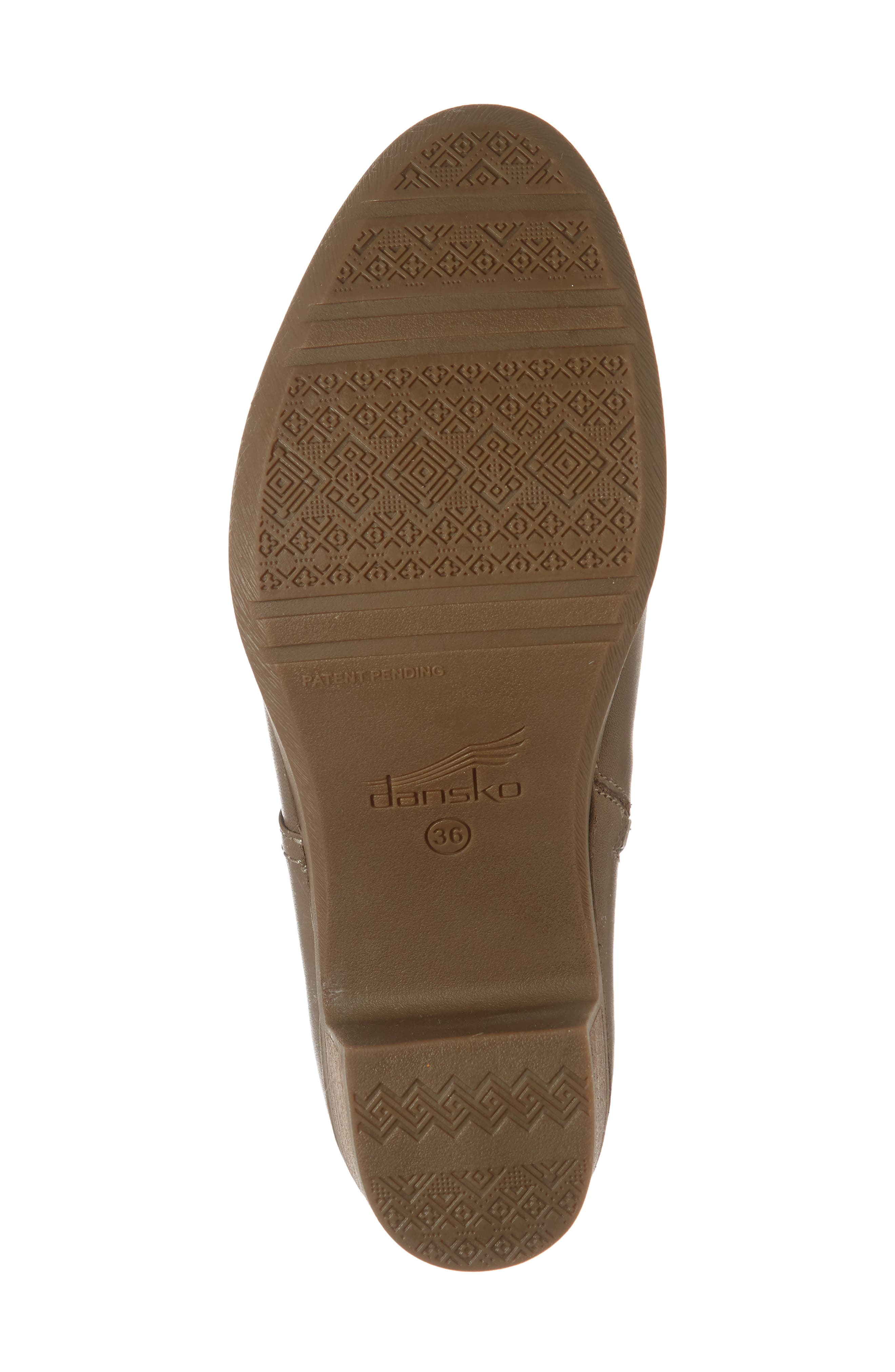 Henley Bootie,                             Alternate thumbnail 6, color,                             TAUPE LEATHER