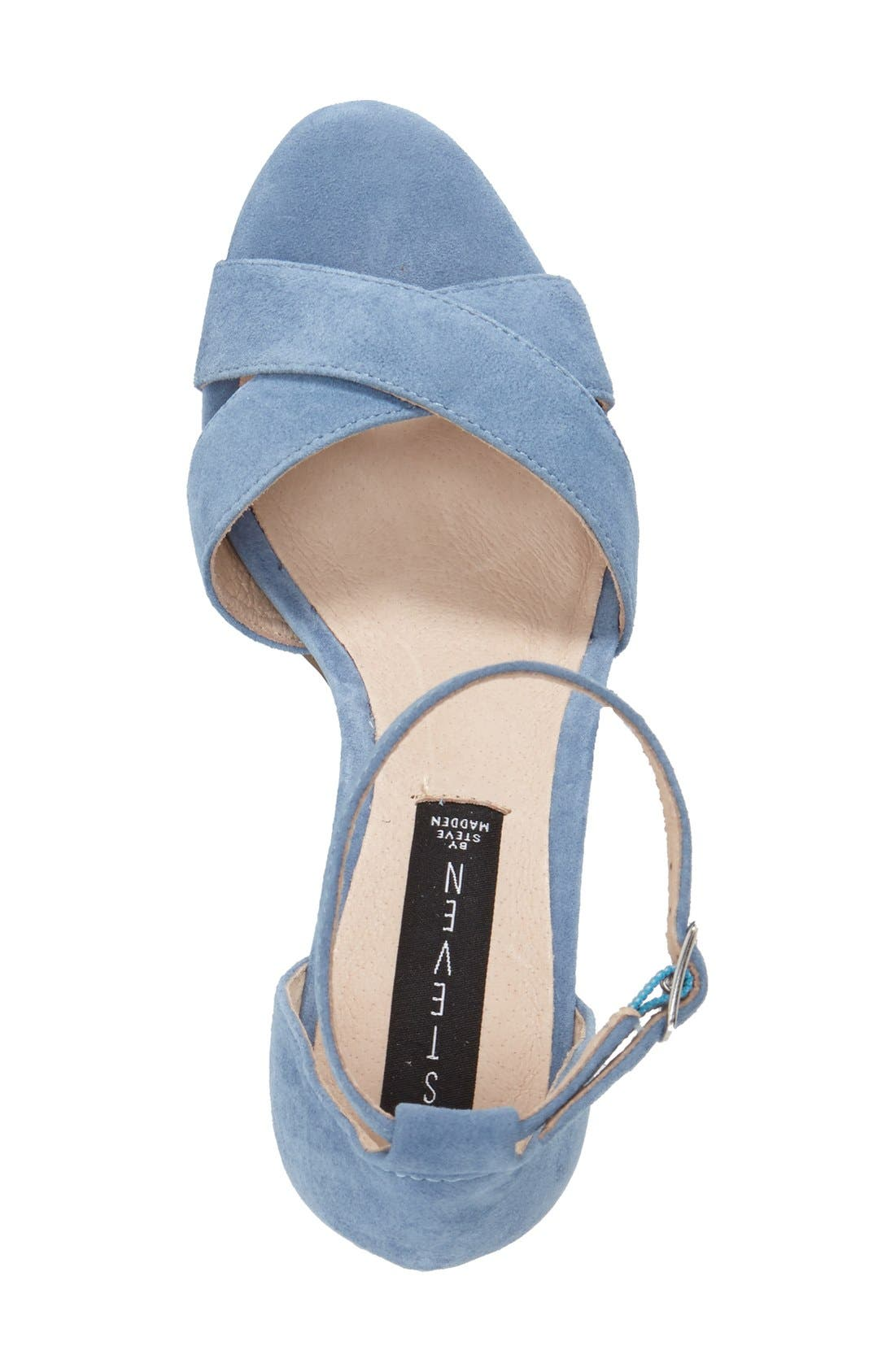 'Voomme' Ankle Strap Sandal,                             Alternate thumbnail 19, color,
