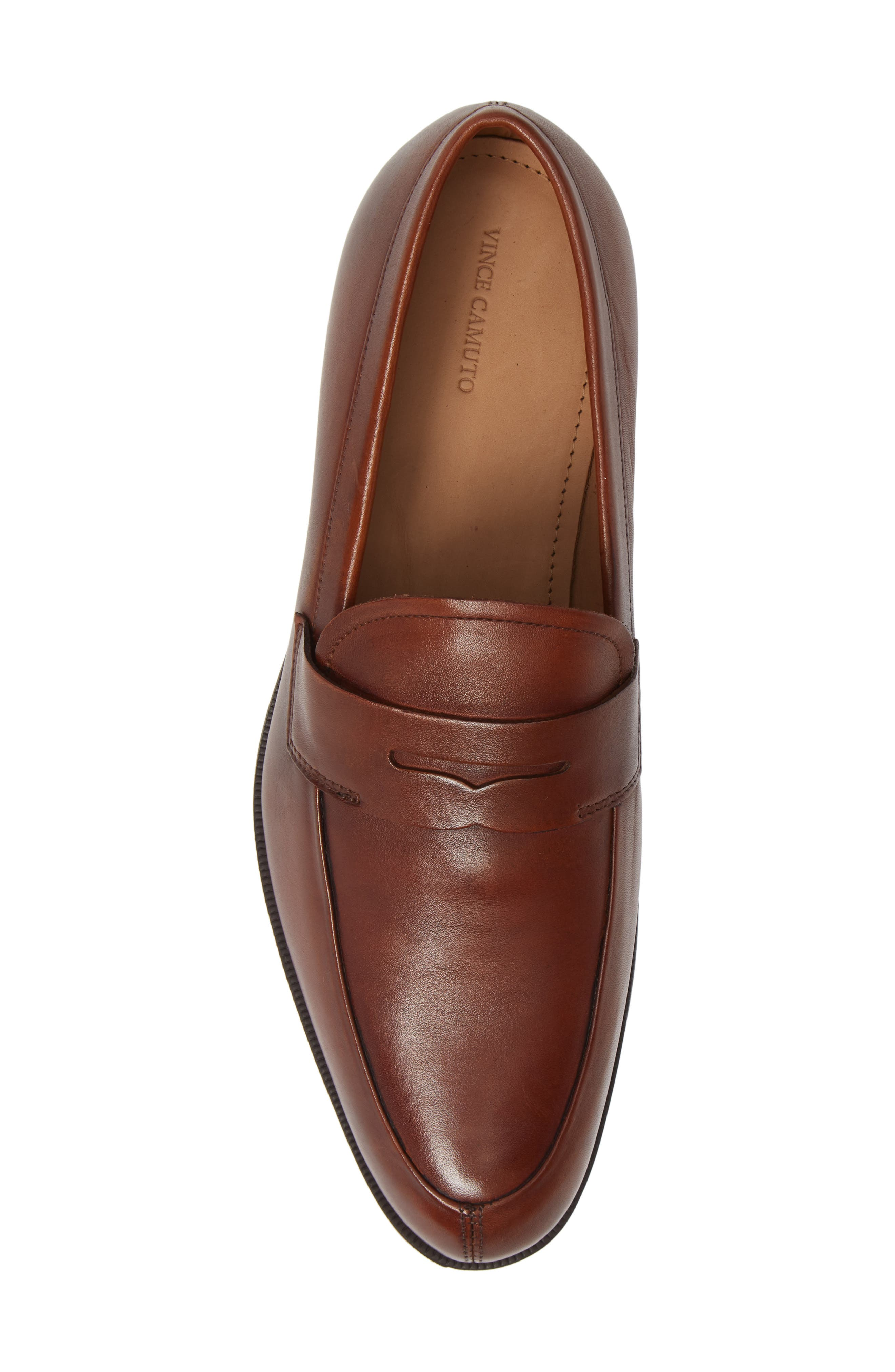 Iggi Penny Loafer,                             Alternate thumbnail 5, color,                             COGNAC LEATHER
