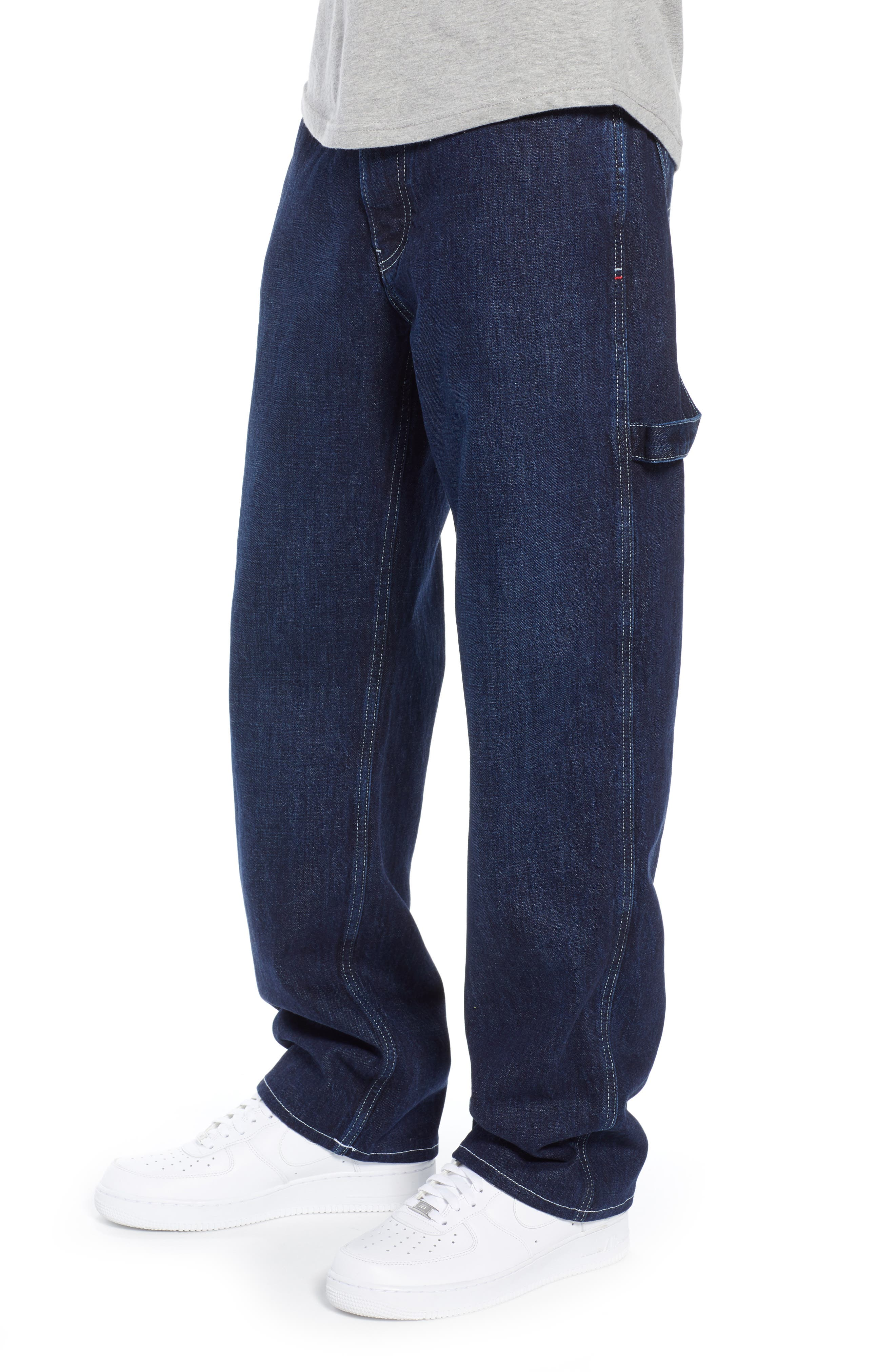 TJM 1986 Relaxed Carpenter Pants,                             Alternate thumbnail 3, color,                             CONTRAST DARK RIG