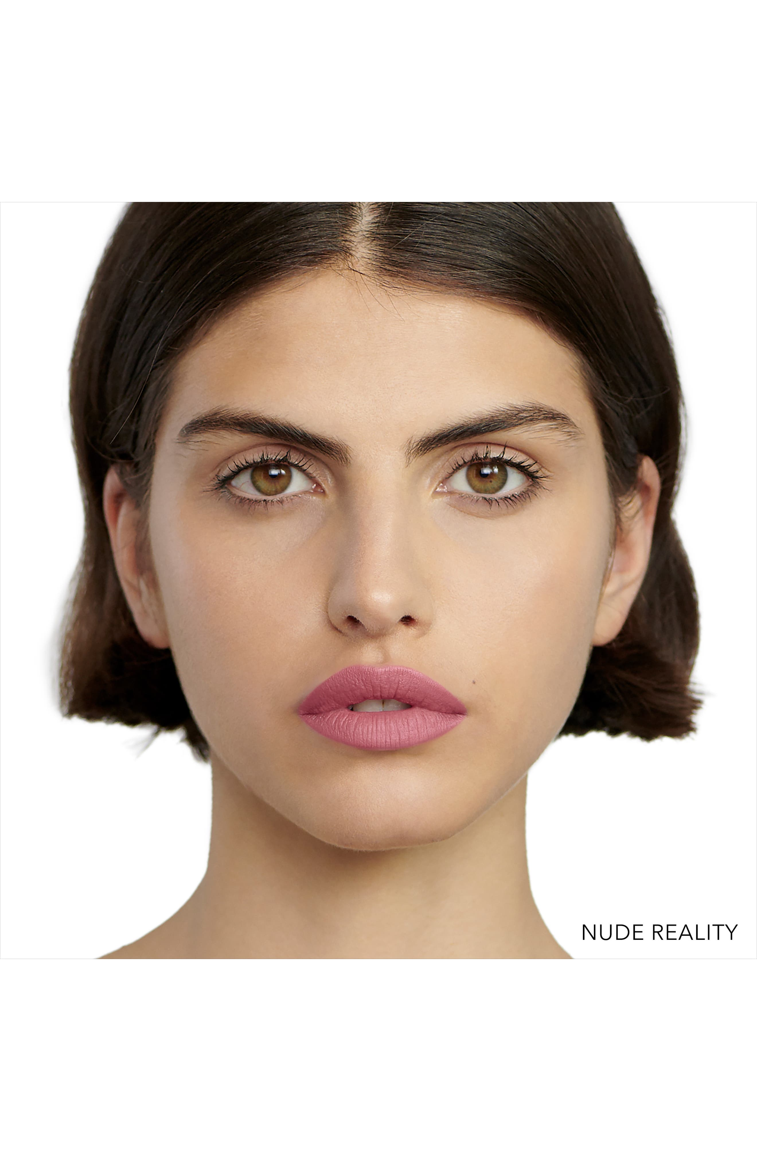 Luxe Matte Lipstick,                             Alternate thumbnail 2, color,                             NUDE REALITY