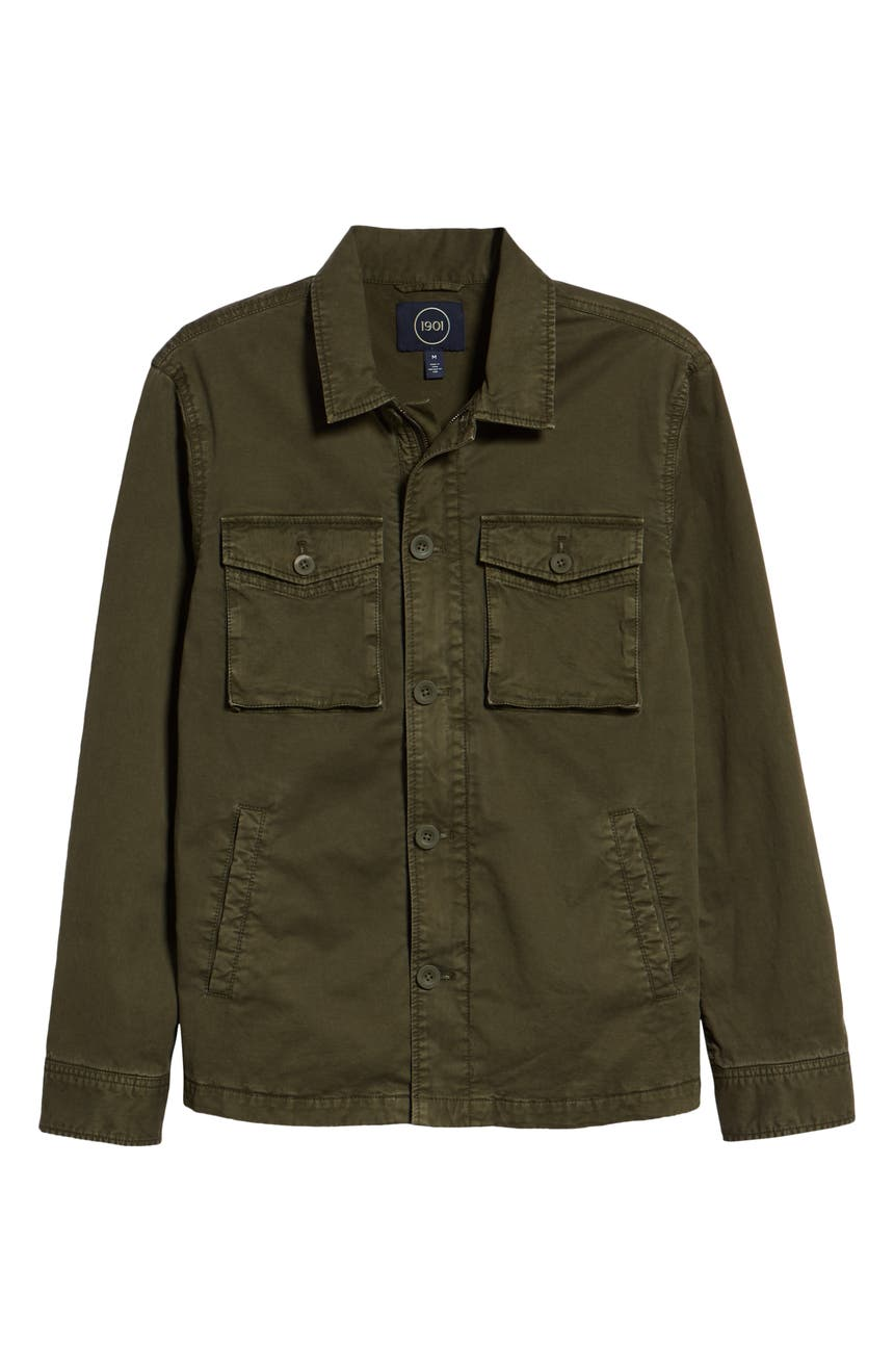 e083897633 1901 Regular Fit Military Jacket