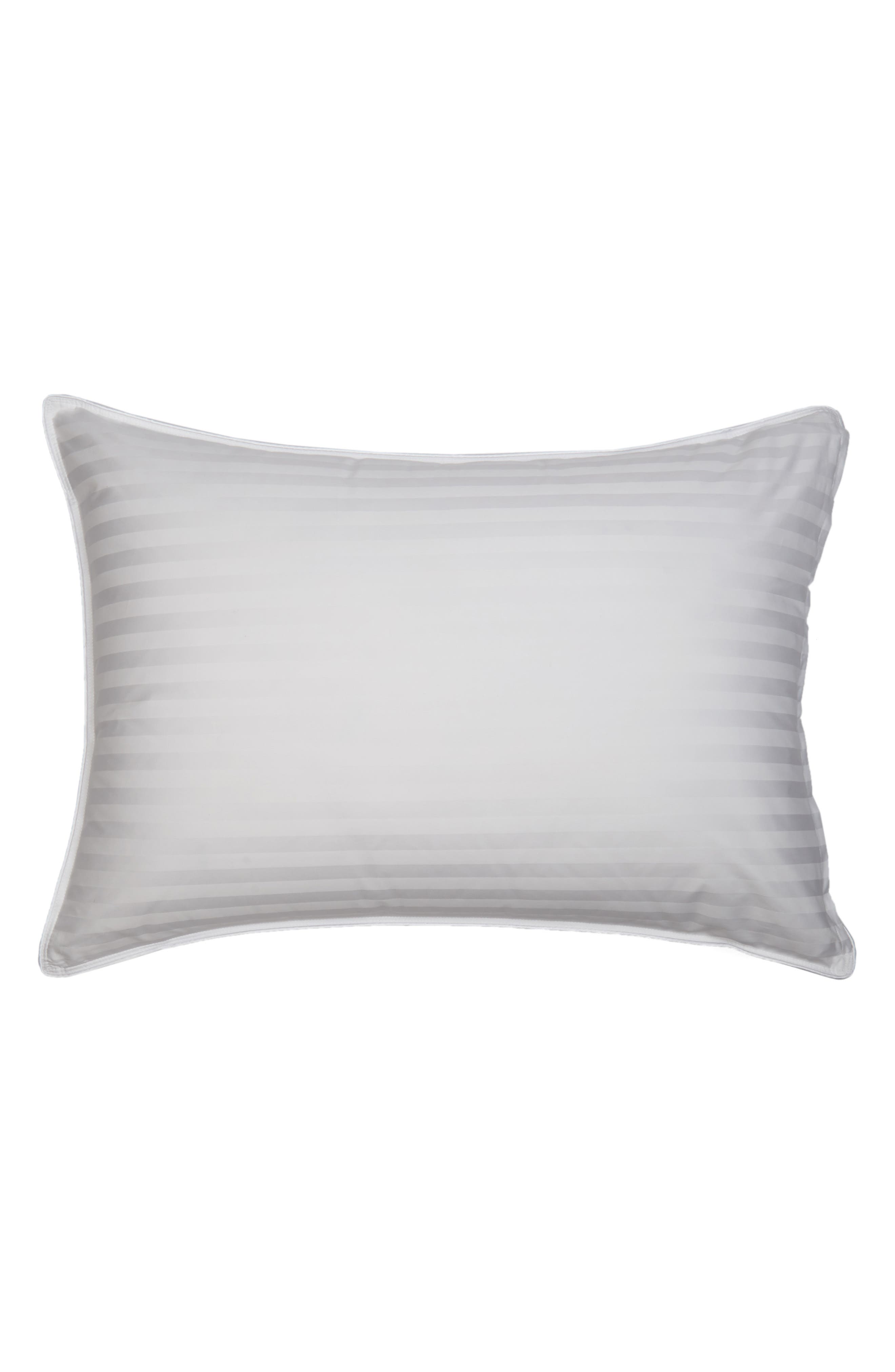 Feather & Down Chamber Pillow,                             Alternate thumbnail 2, color,                             WHITE