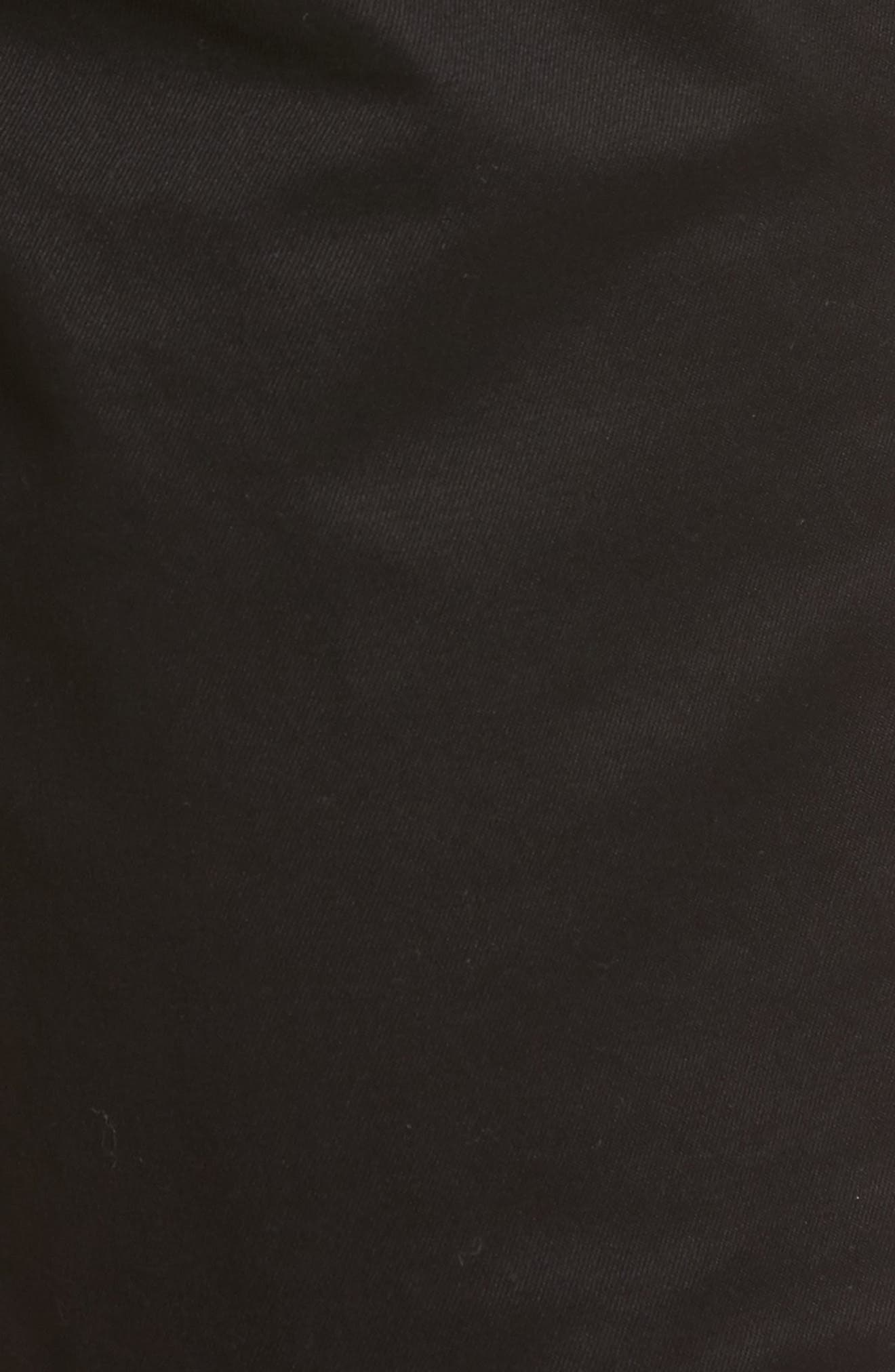 Slim Fit Chino Shorts,                             Alternate thumbnail 5, color,                             001