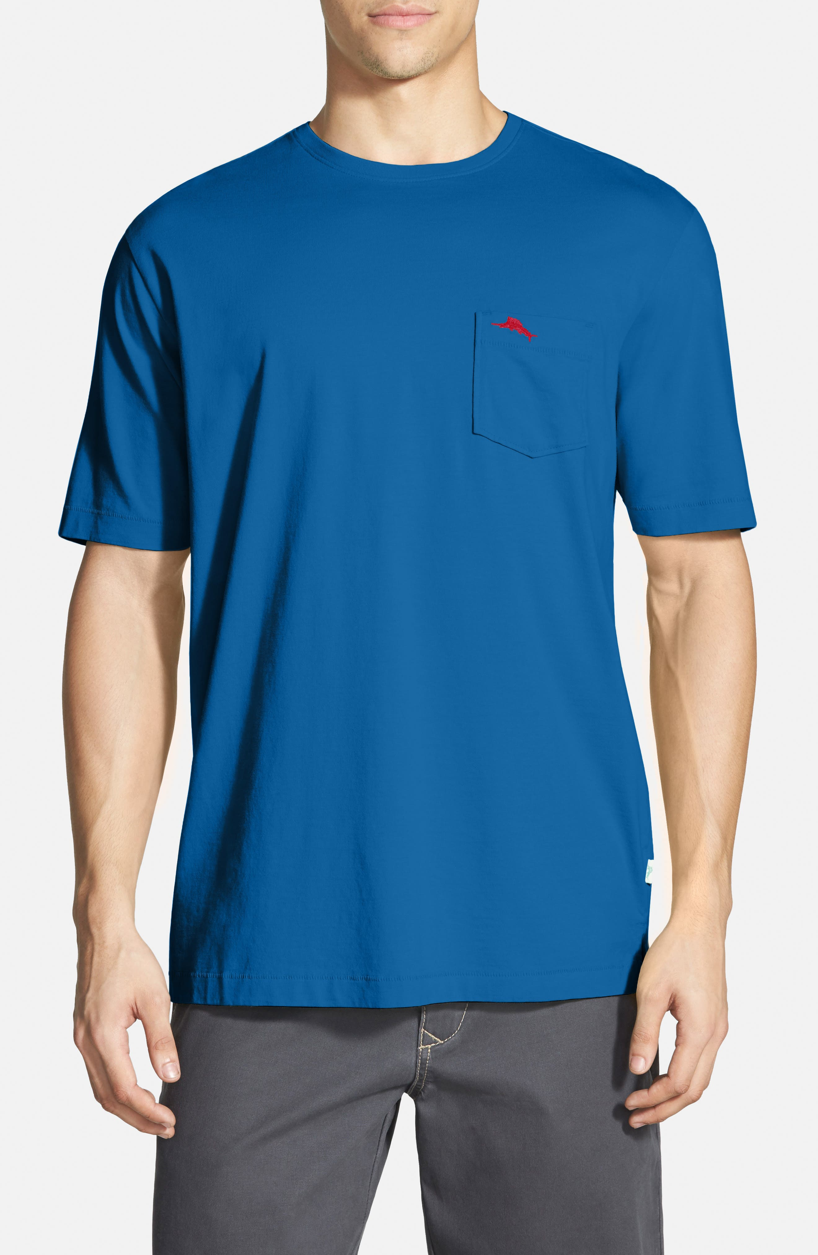 New Bali Sky Pima Cotton Pocket T-Shirt,                             Main thumbnail 35, color,