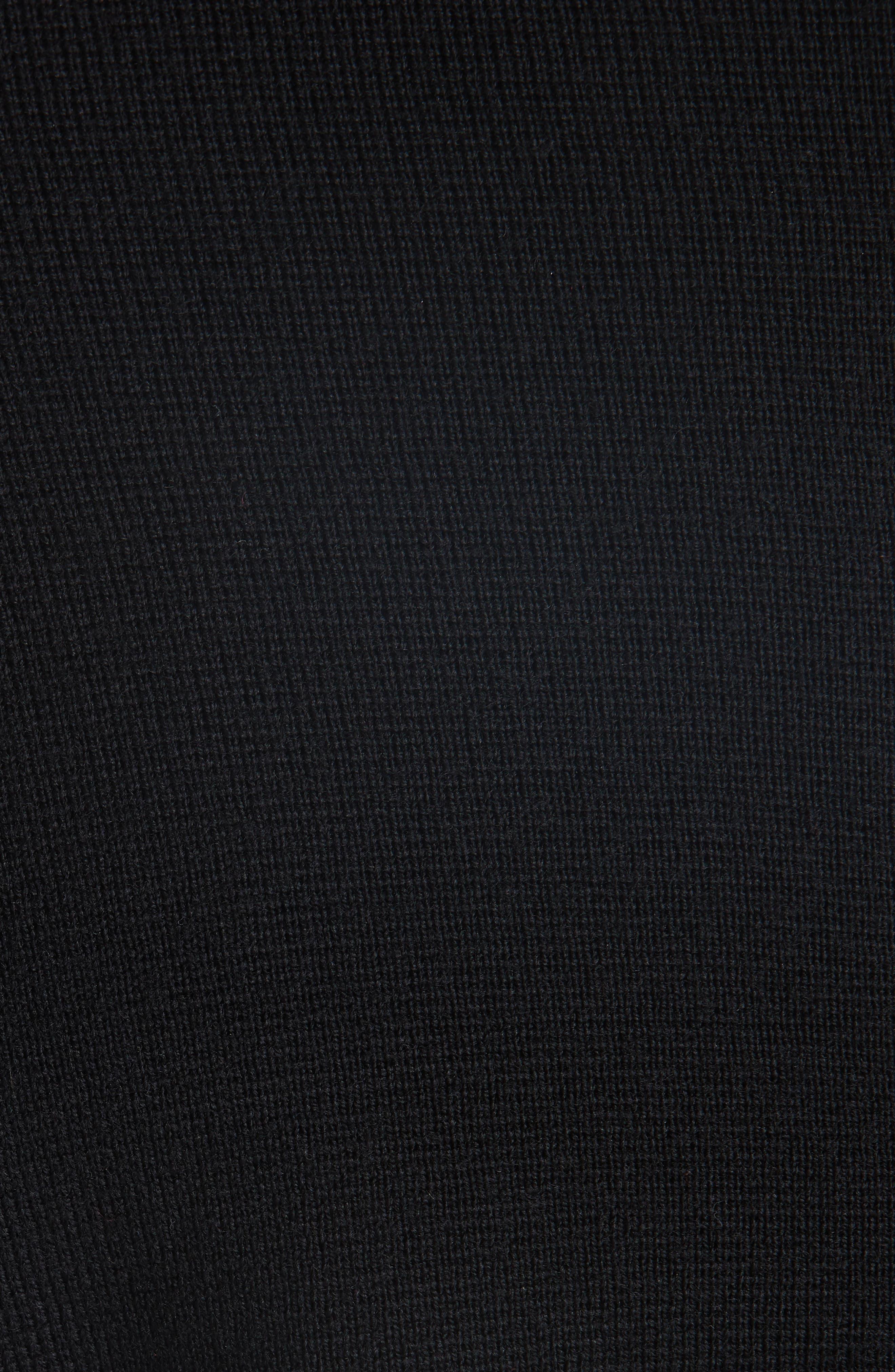 Knit Teddy Wool Varsity Jacket,                             Alternate thumbnail 6, color,                             009