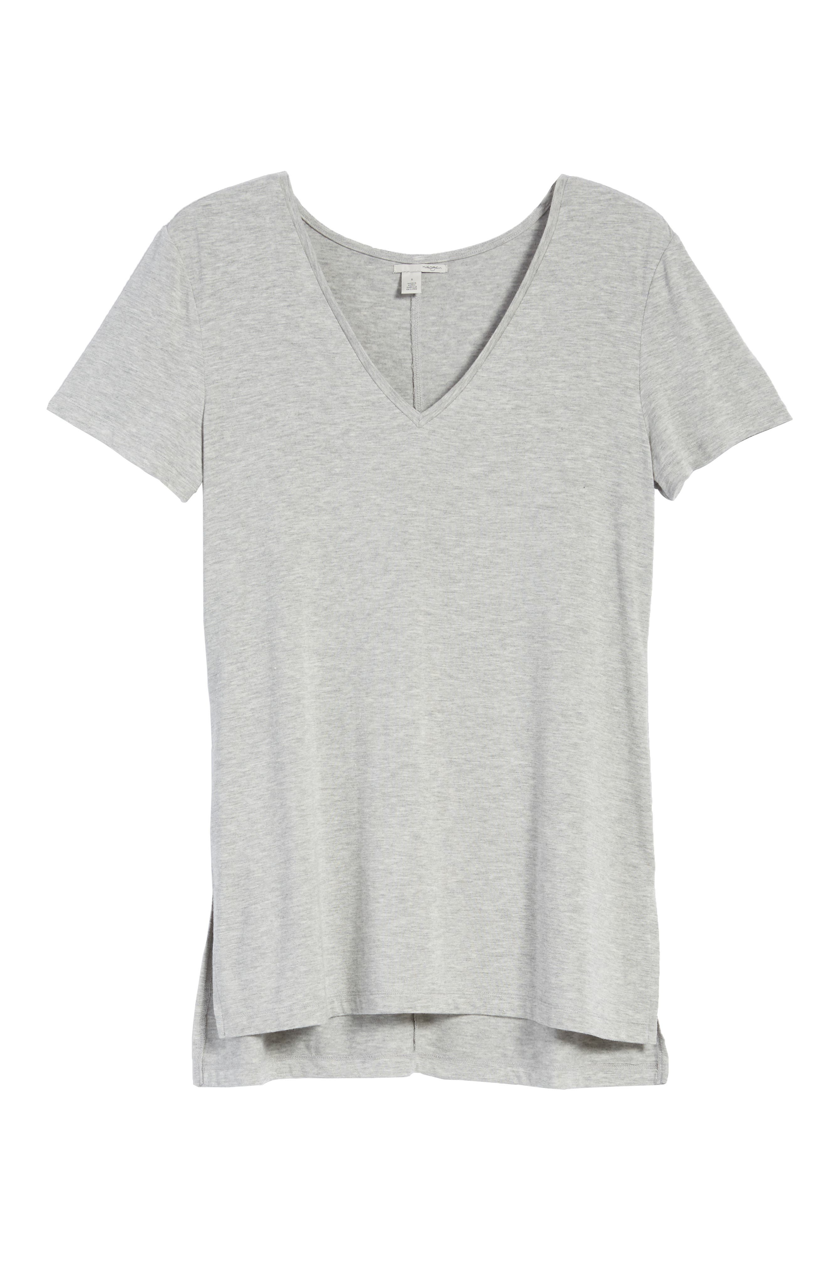 V-Neck Tunic Tee,                             Alternate thumbnail 67, color,