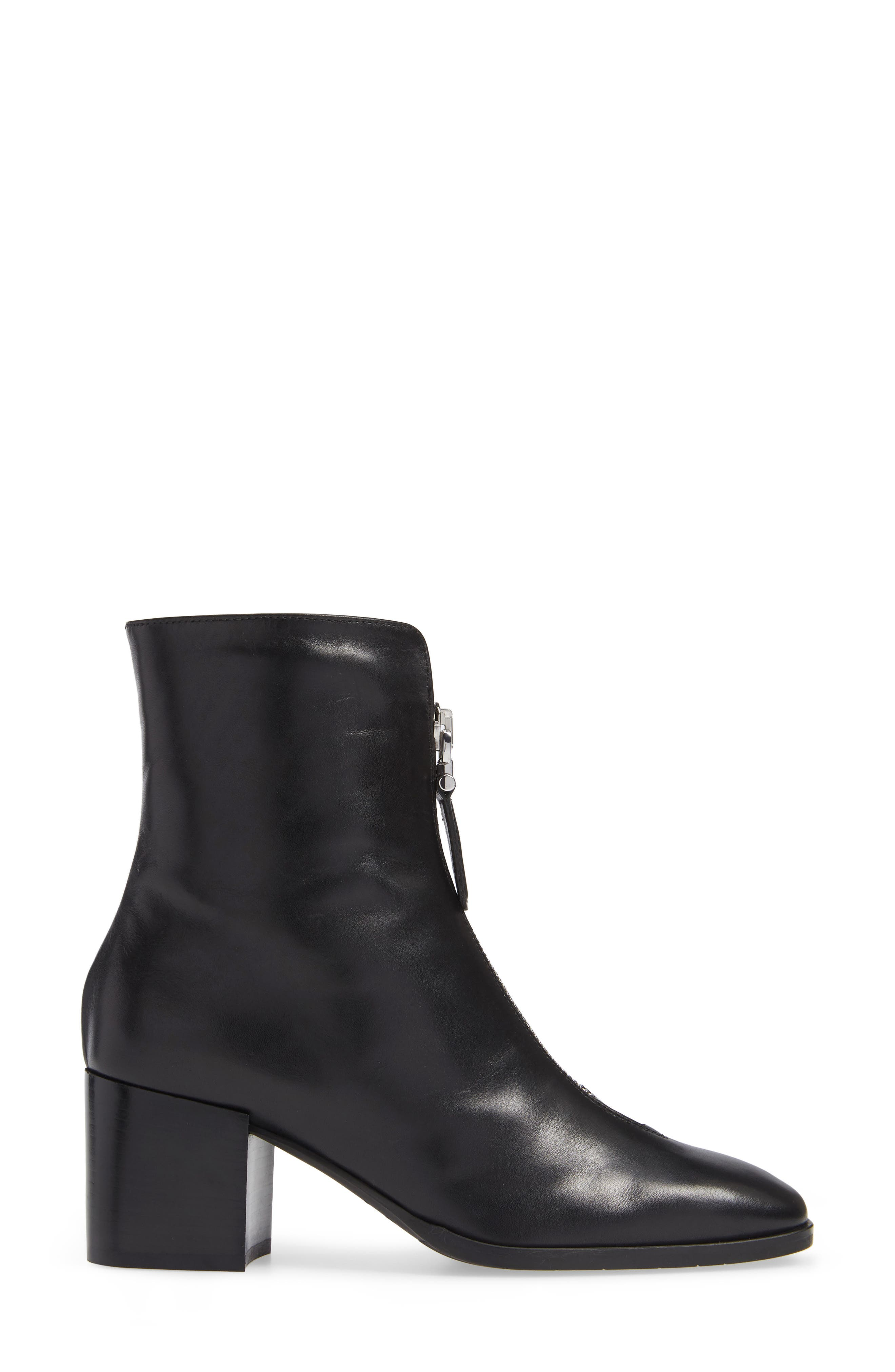 Camden Water Resistant Nappa Boot,                             Alternate thumbnail 3, color,                             001