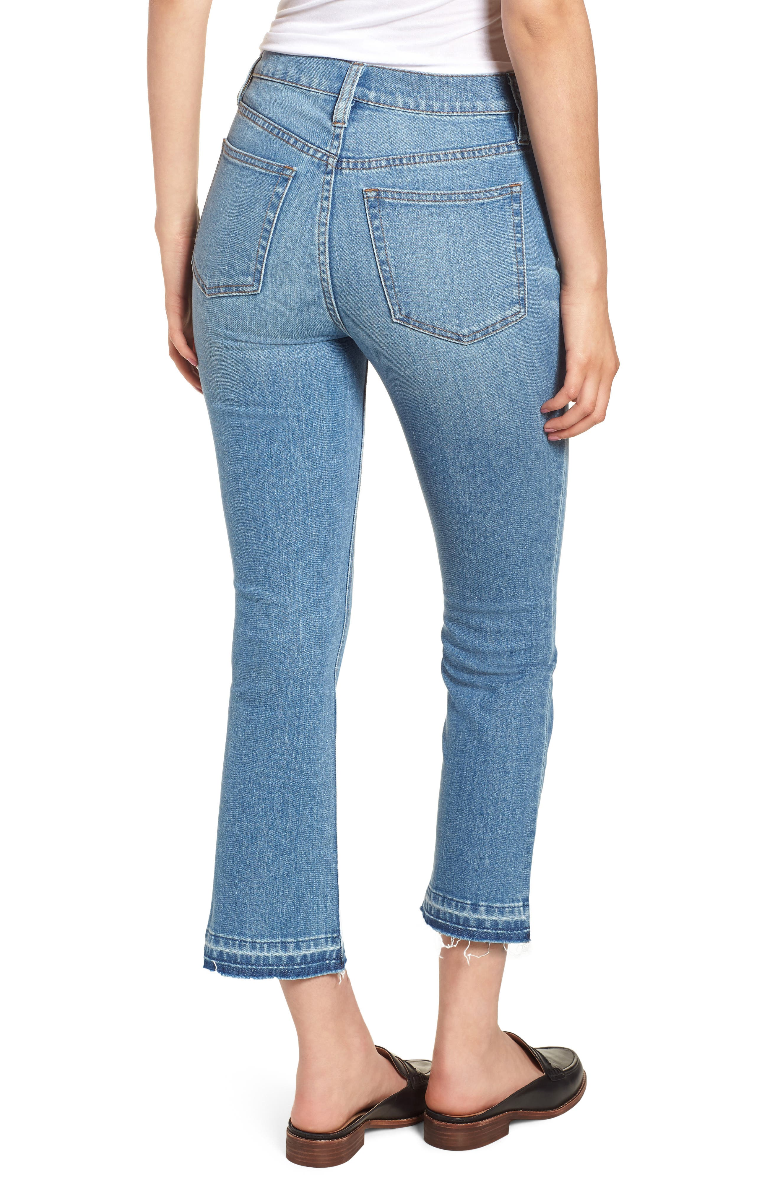 Billie Demi Boot Crop Jeans,                             Alternate thumbnail 2, color,                             400