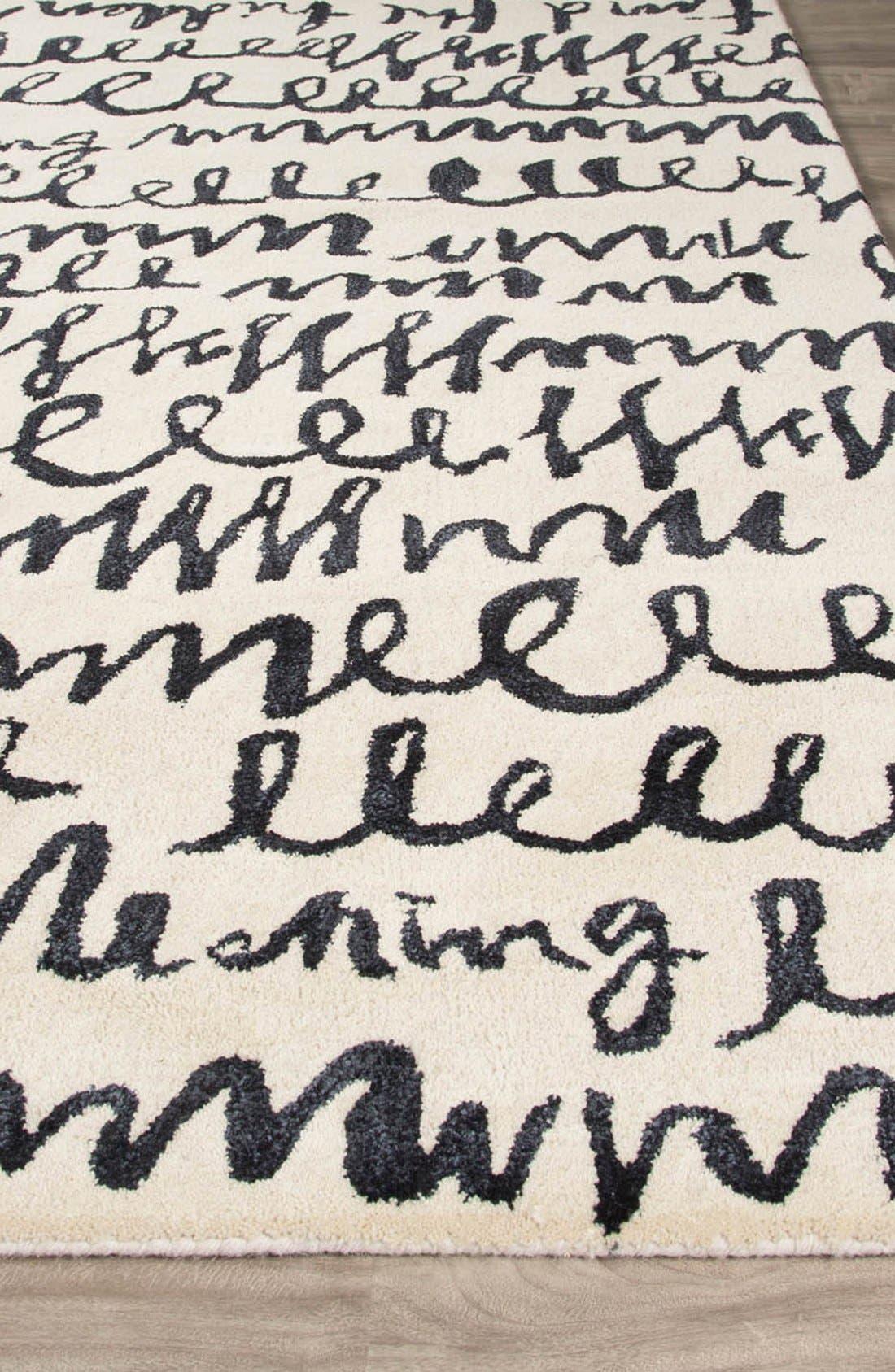 'gramercy' wool & silk area rug,                             Alternate thumbnail 2, color,                             900