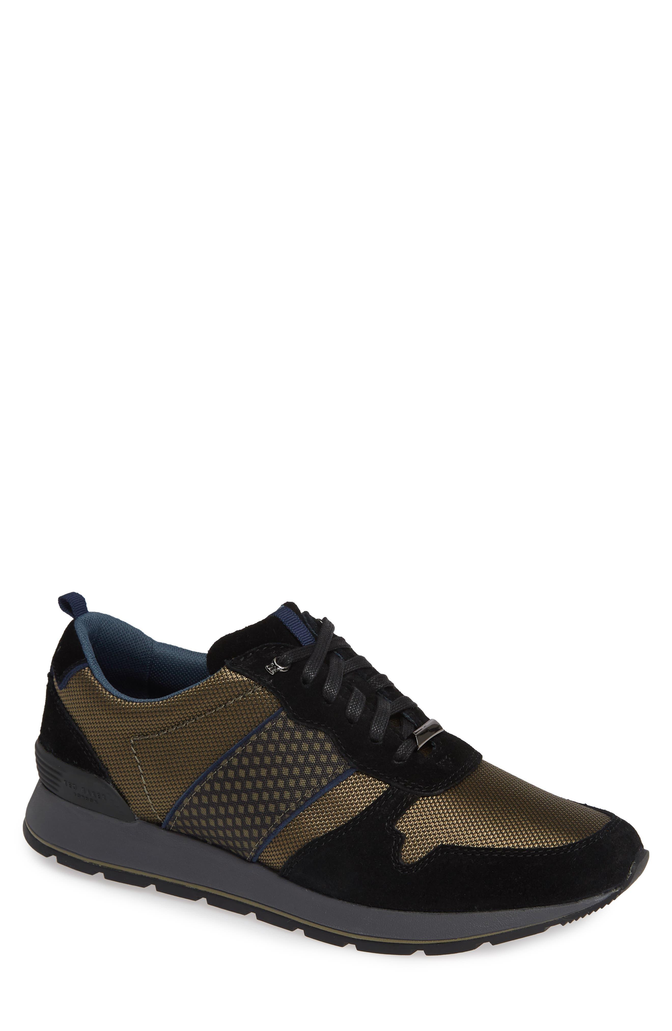 Ted Baker London Jaymz Sneaker, Black
