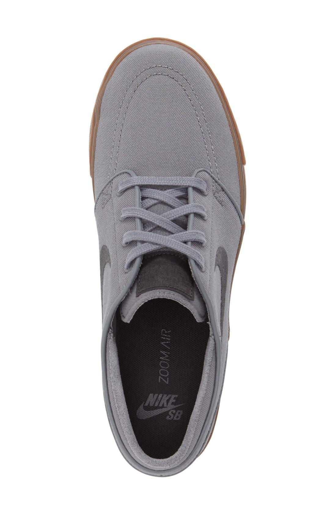 Zoom - Stefan Janoski SB Canvas Skate Shoe,                             Alternate thumbnail 109, color,