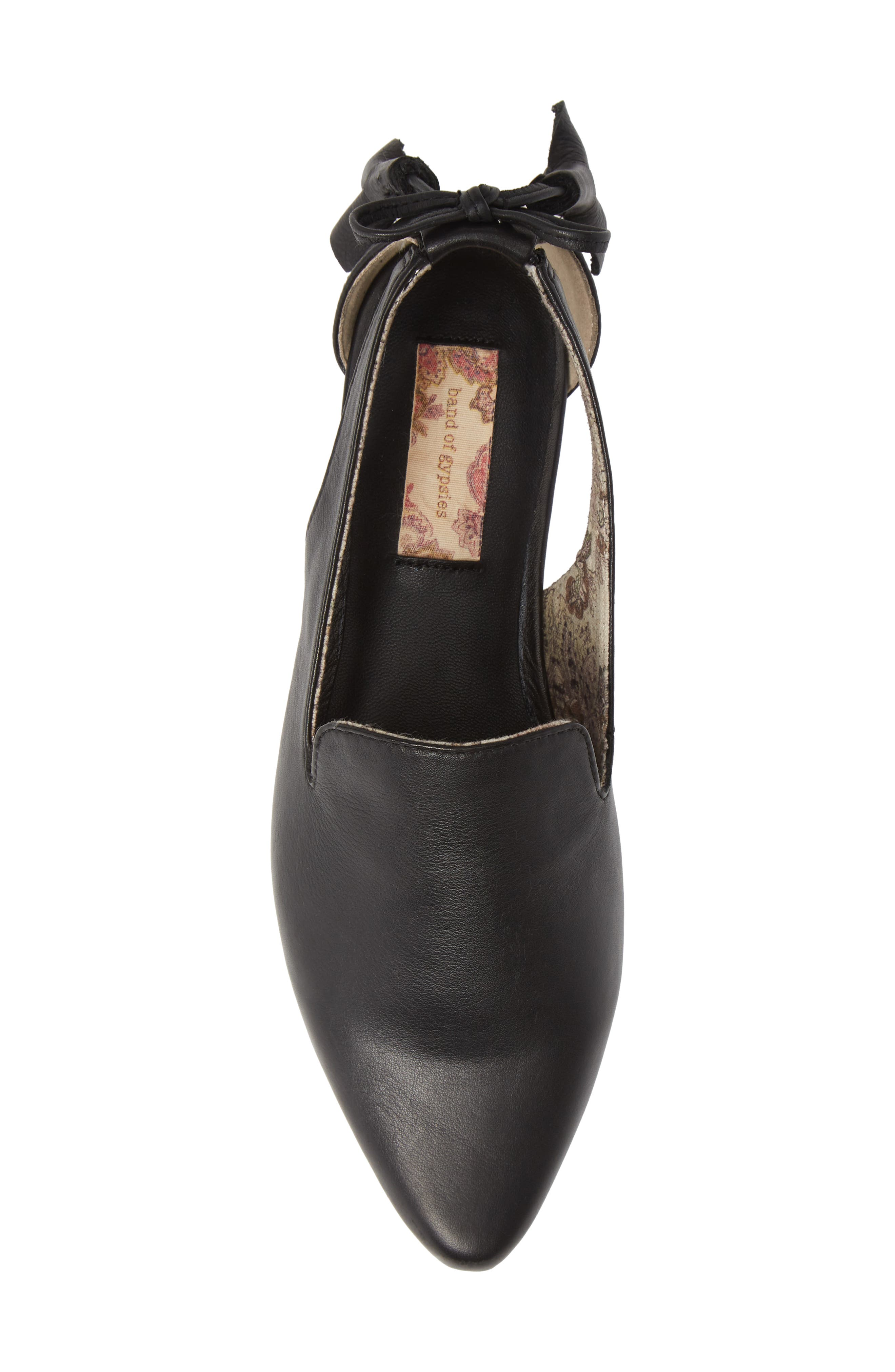 Songbird Loafer,                             Alternate thumbnail 5, color,                             BLACK LEATHER