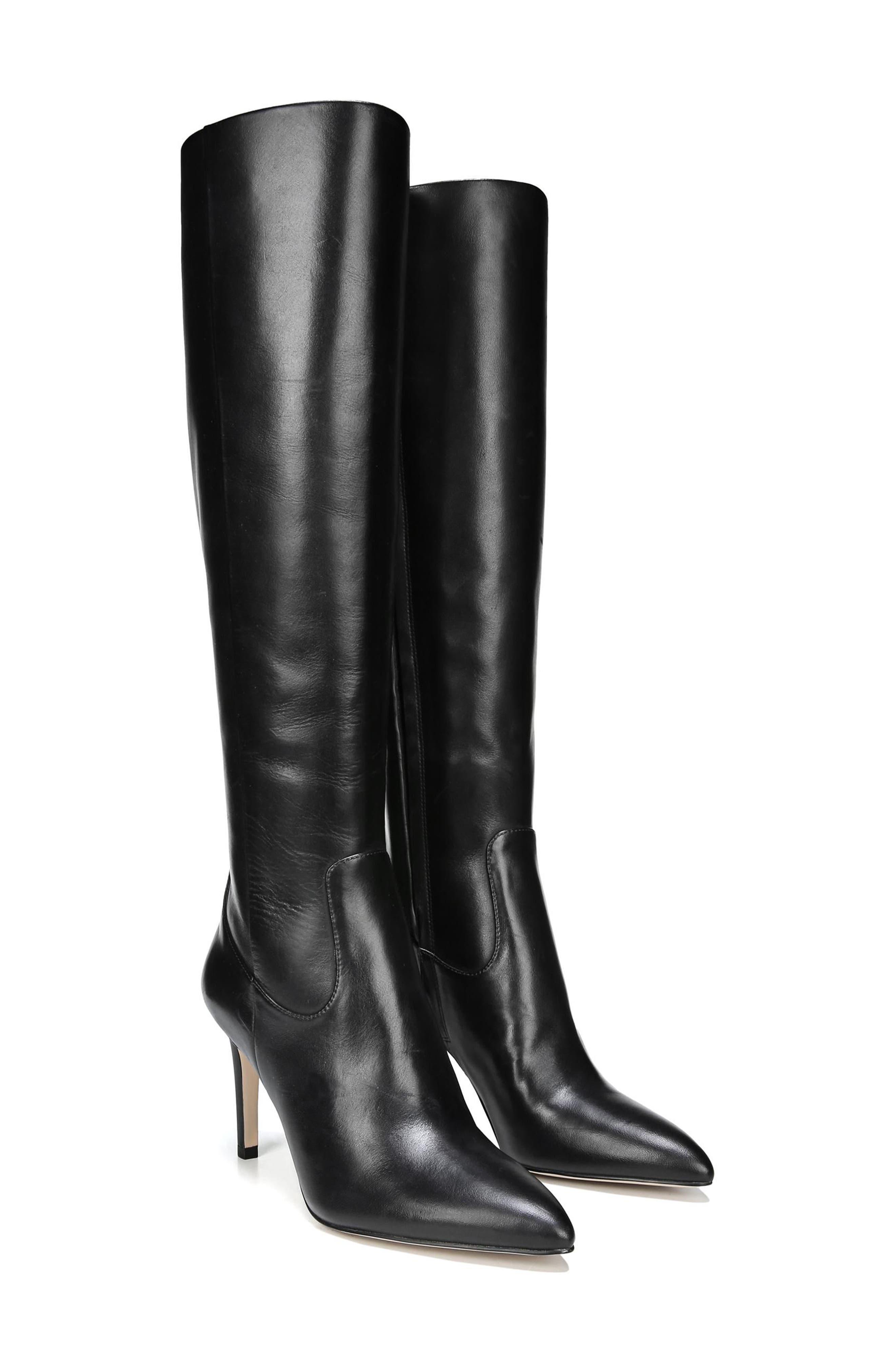 Olencia Knee High Boot,                             Alternate thumbnail 8, color,                             001