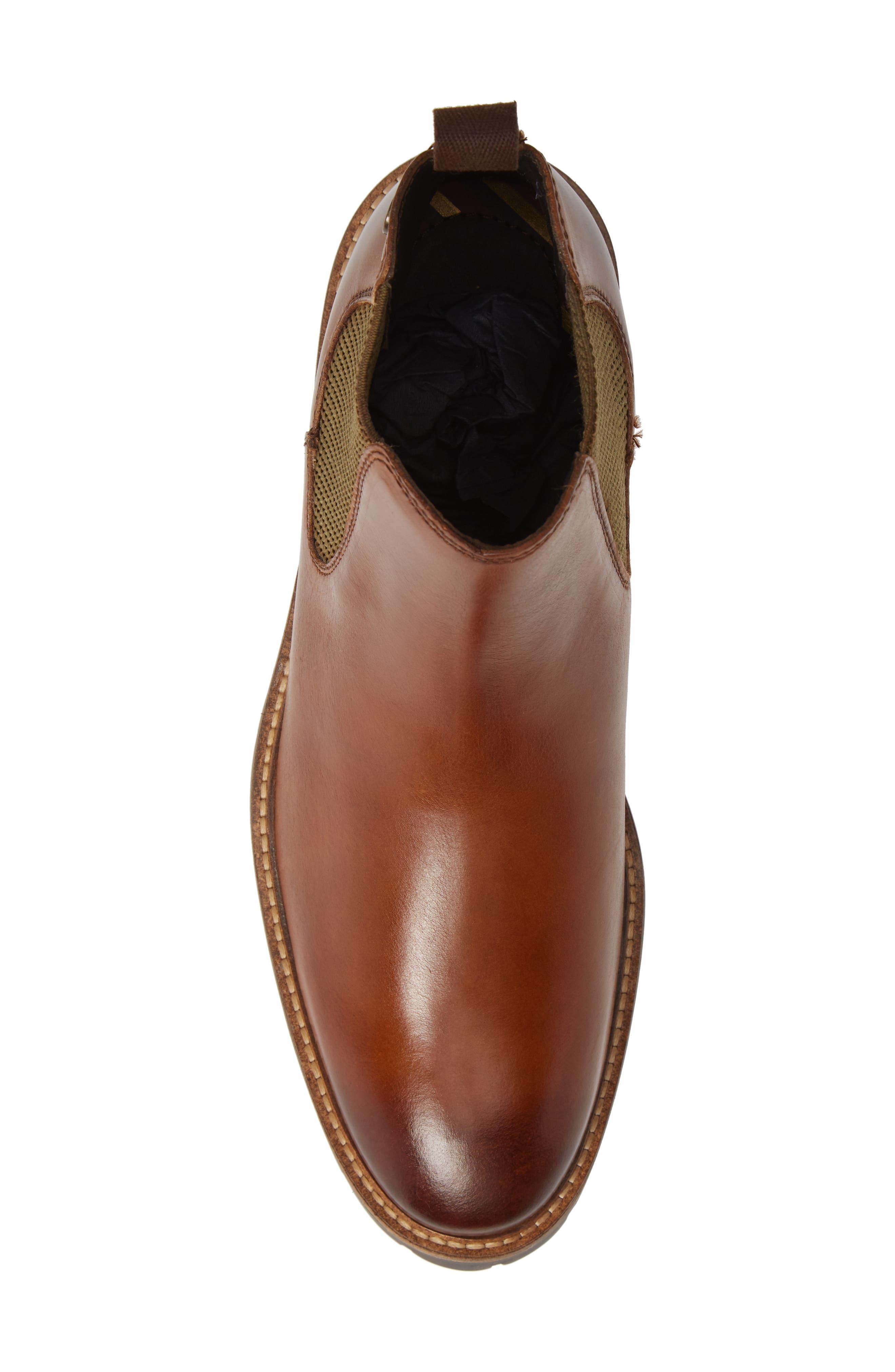 Havoc Lugged Chelsea Boot,                             Alternate thumbnail 5, color,                             TAN