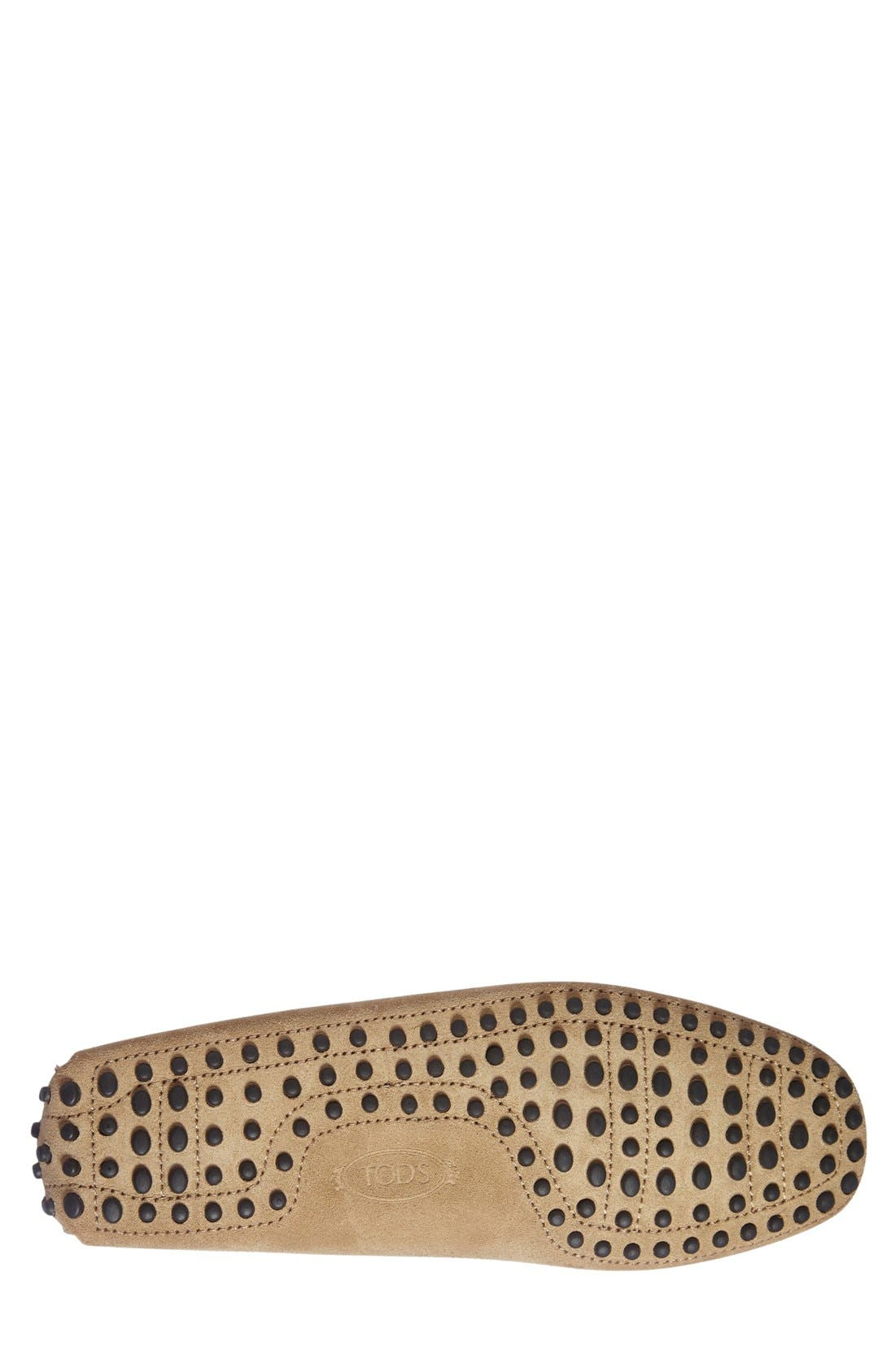 Gommini Tie Front Driving Moccasin,                             Alternate thumbnail 74, color,