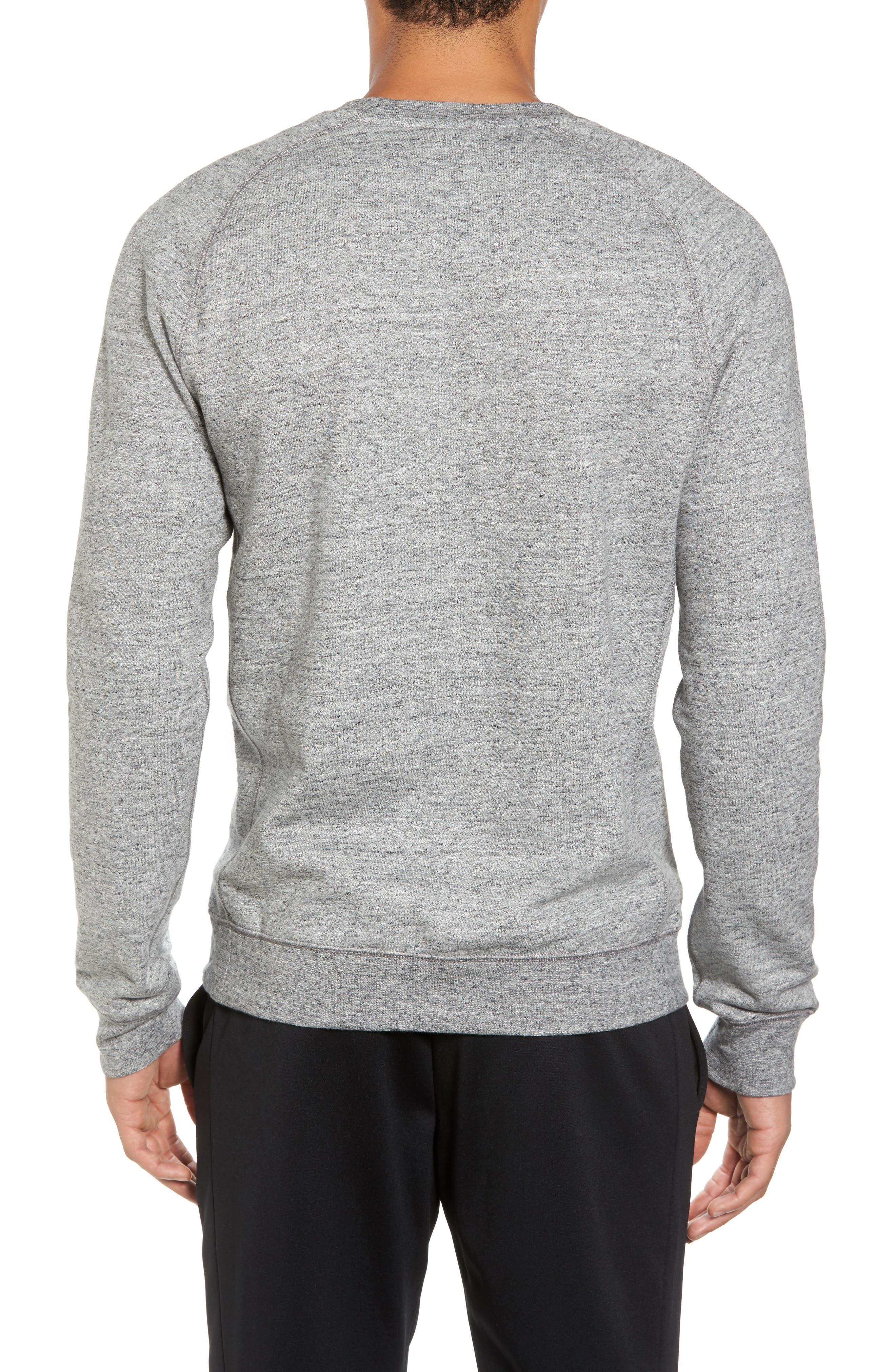 Legacy Raglan Crewneck Sweatshirt,                             Alternate thumbnail 2, color,                             092