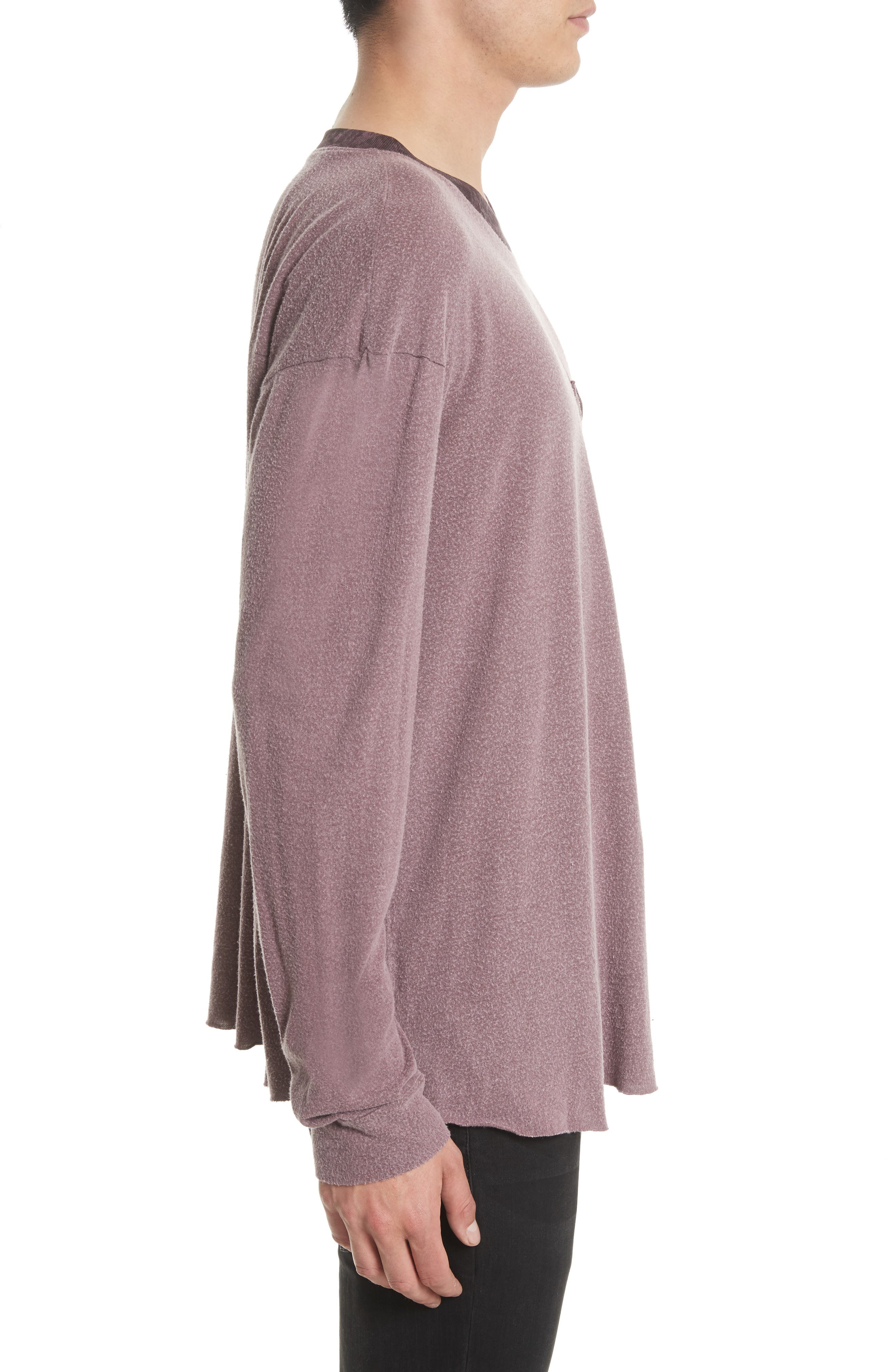 Tide Long Sleeve Pocket T-Shirt,                             Alternate thumbnail 3, color,                             649