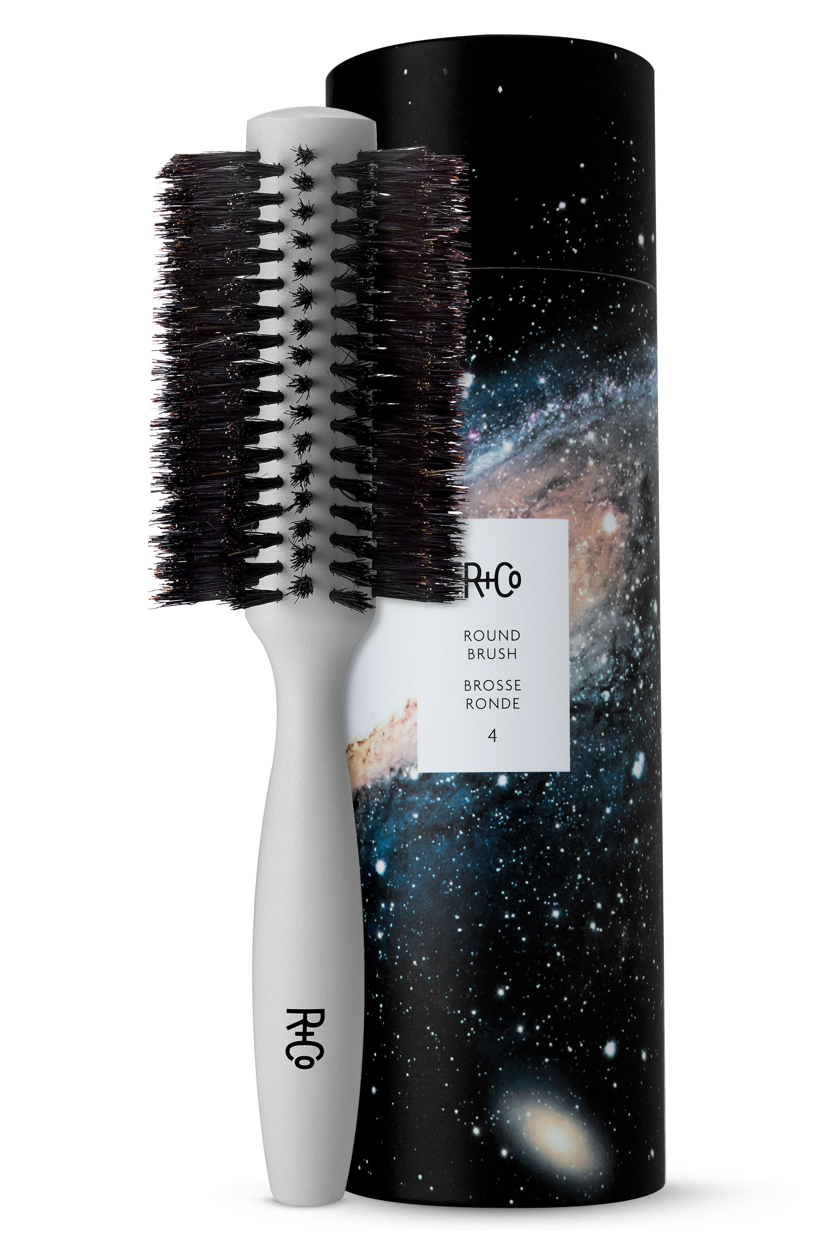 SPACE.NK.apothecary R+Co Large Round Brush 4,                             Main thumbnail 1, color,                             000