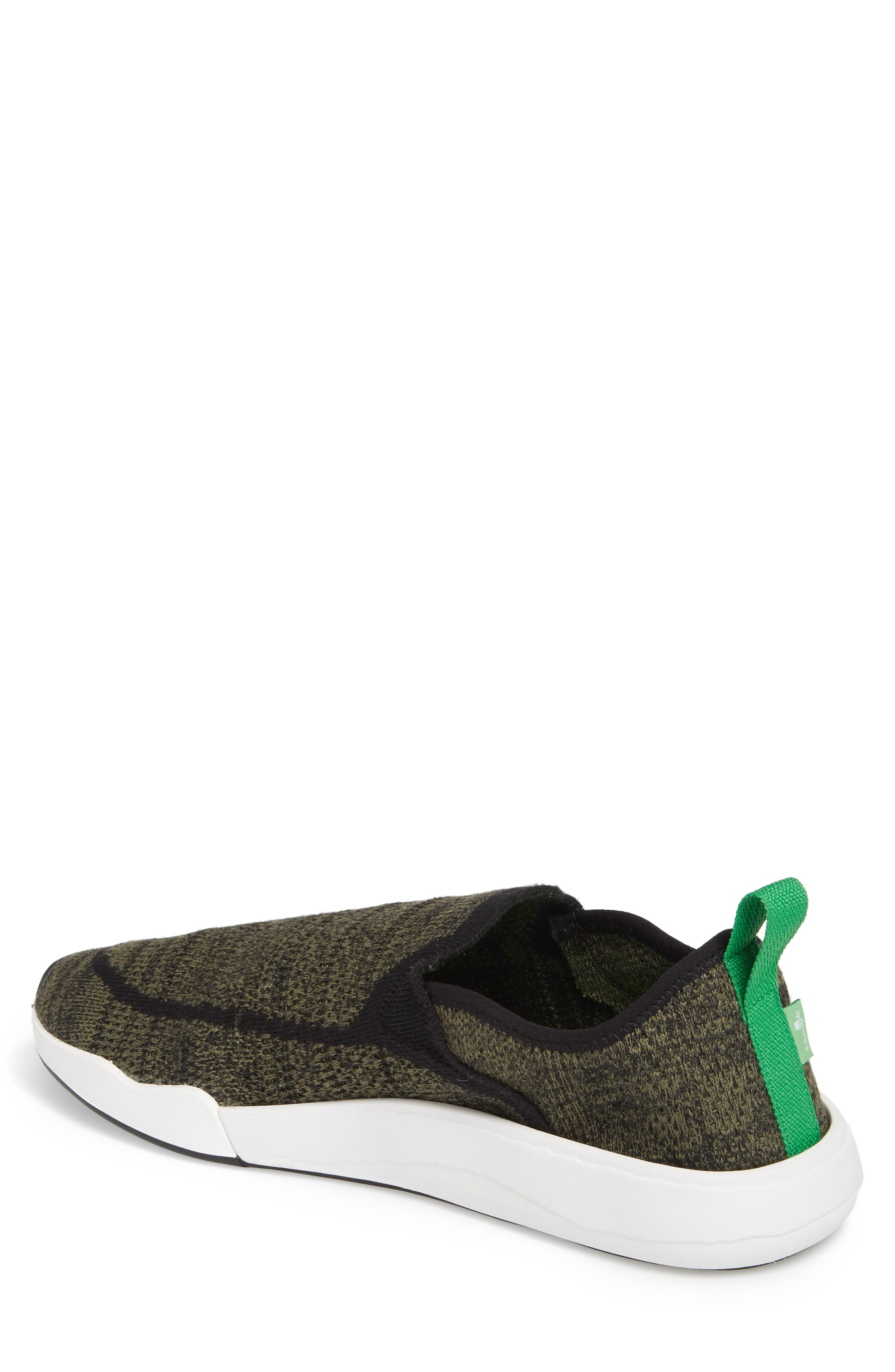 Chiba Quest Knit Slip-On Sneaker,                             Alternate thumbnail 2, color,                             OLIVE