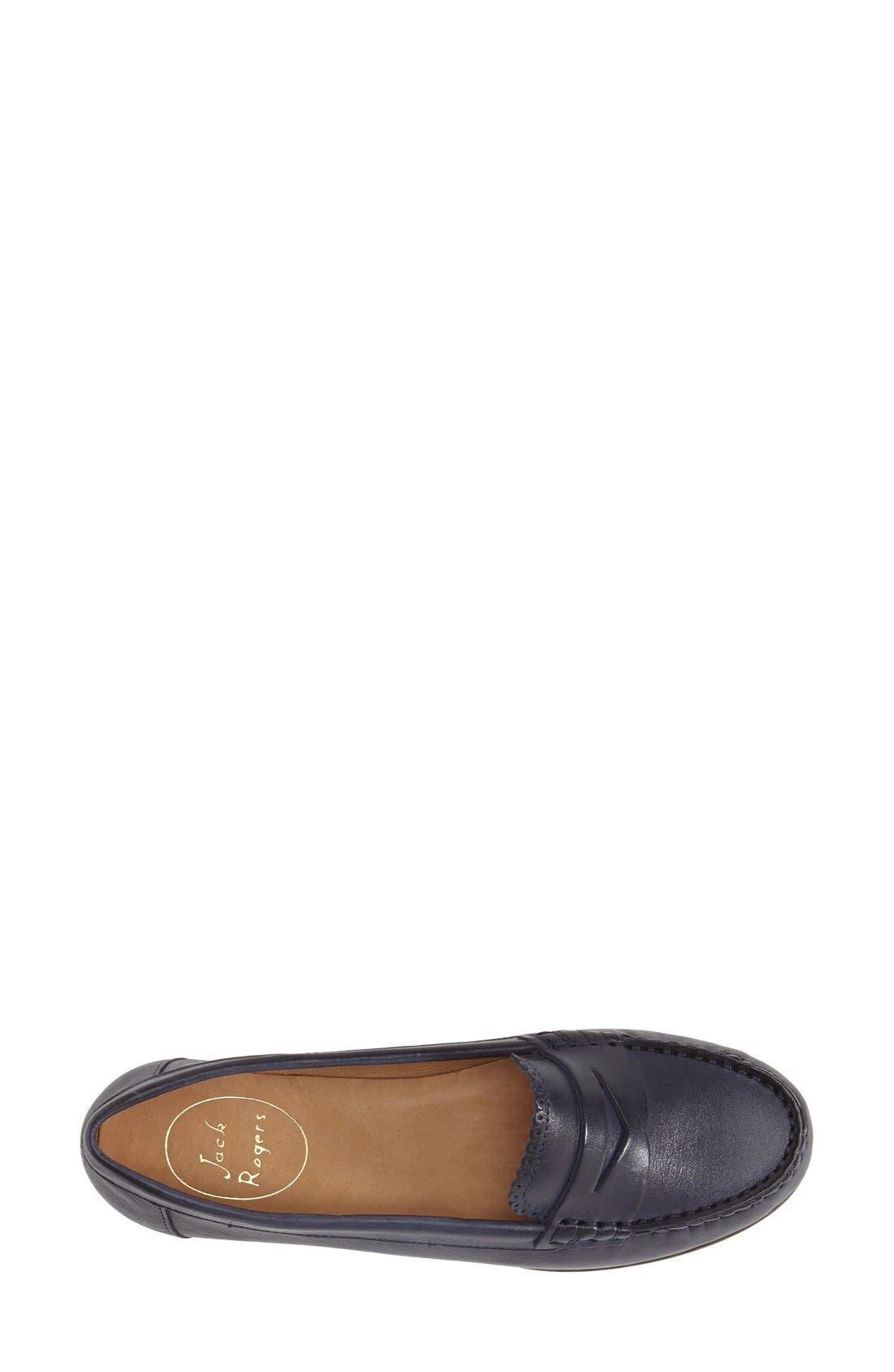 'Quinn' Leather Loafer,                             Alternate thumbnail 17, color,
