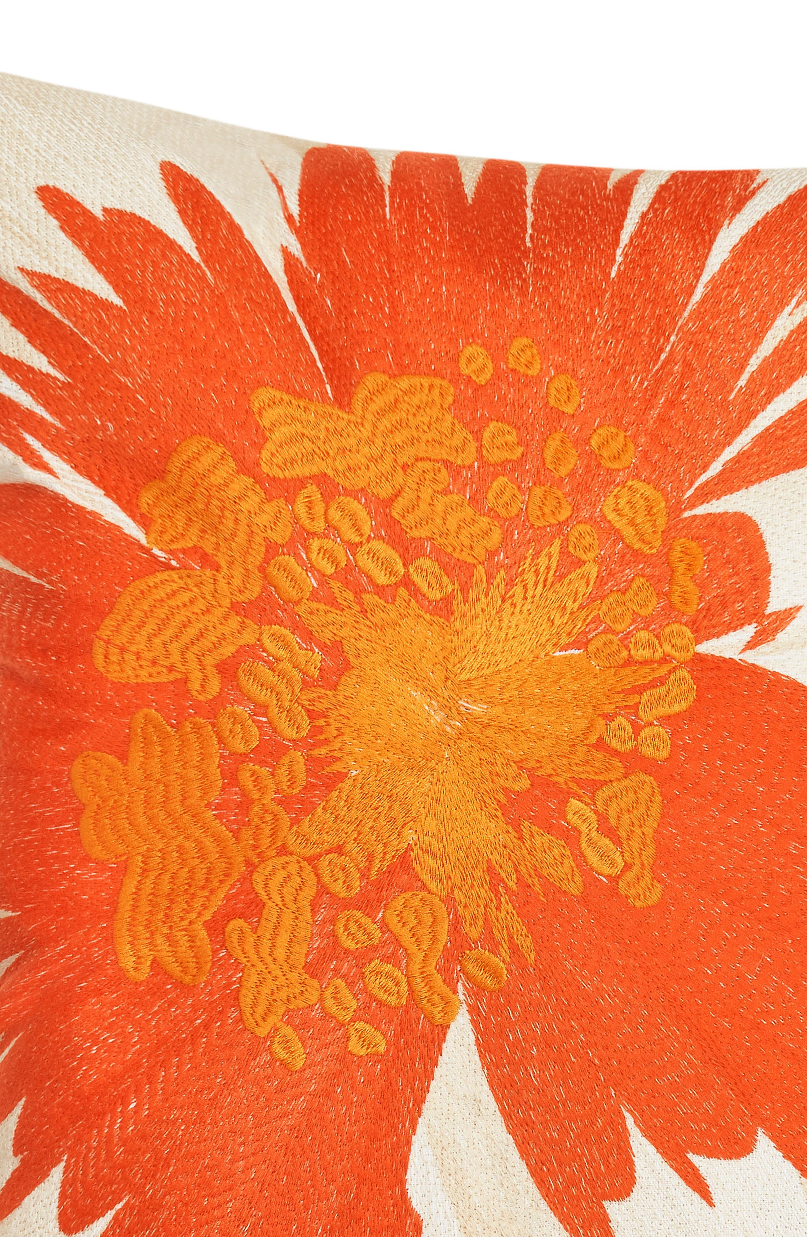 Palm Desert Accent Pillow,                             Alternate thumbnail 2, color,                             MEDIUM ORANGE