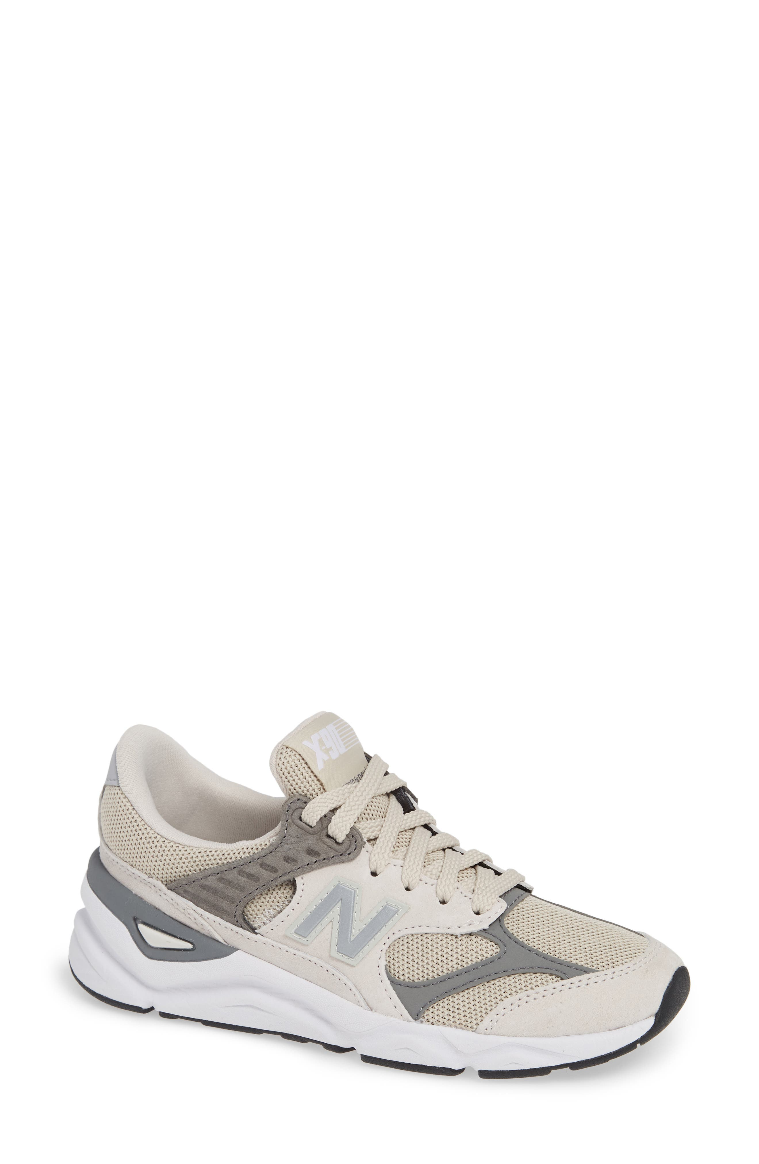 NEW BALANCE Women'S X90 Re-Constructed Lace-Up Sneakers in Moonbeam