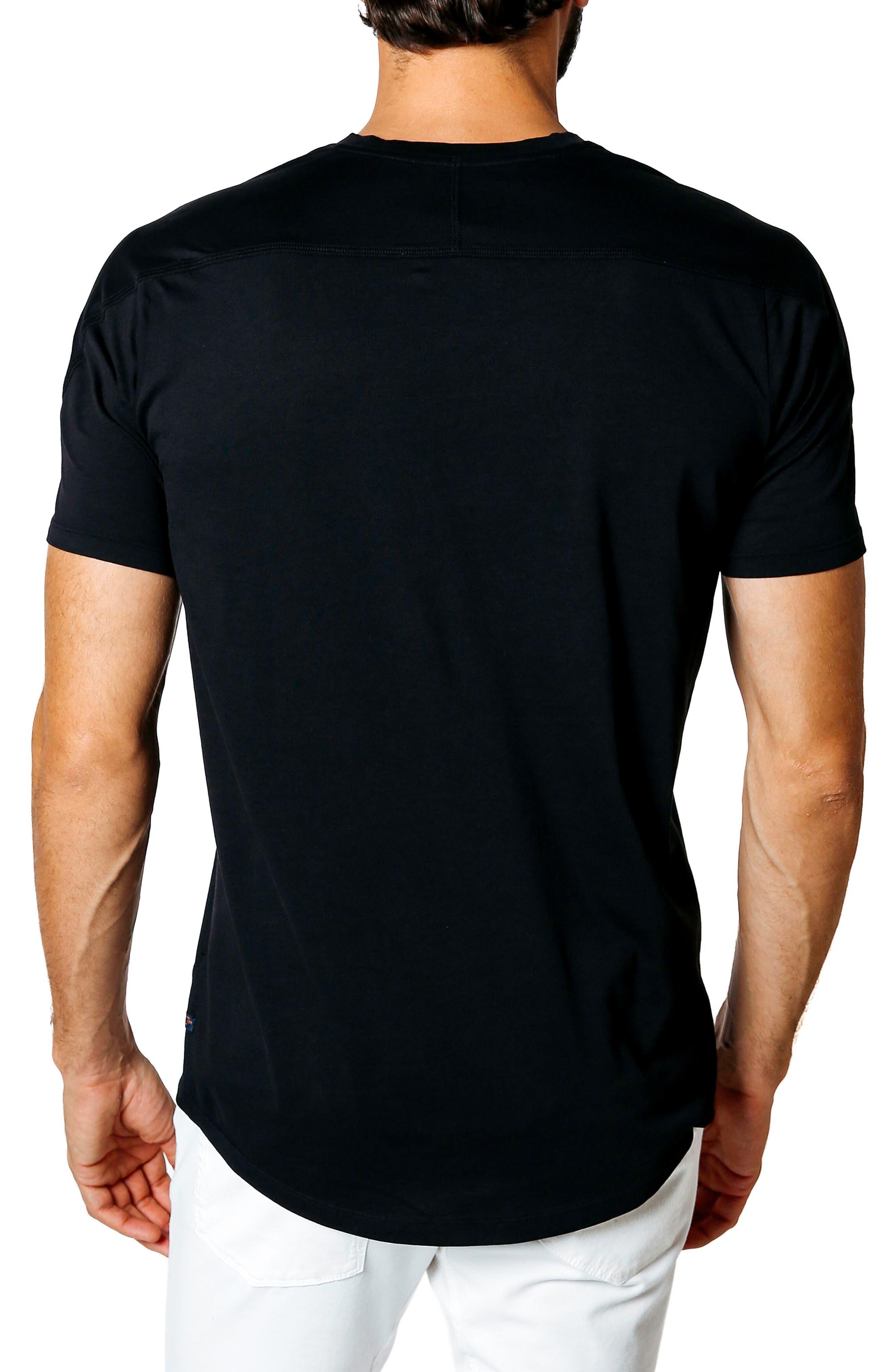 Hi Vee Slim Fit T-Shirt,                             Alternate thumbnail 2, color,                             001