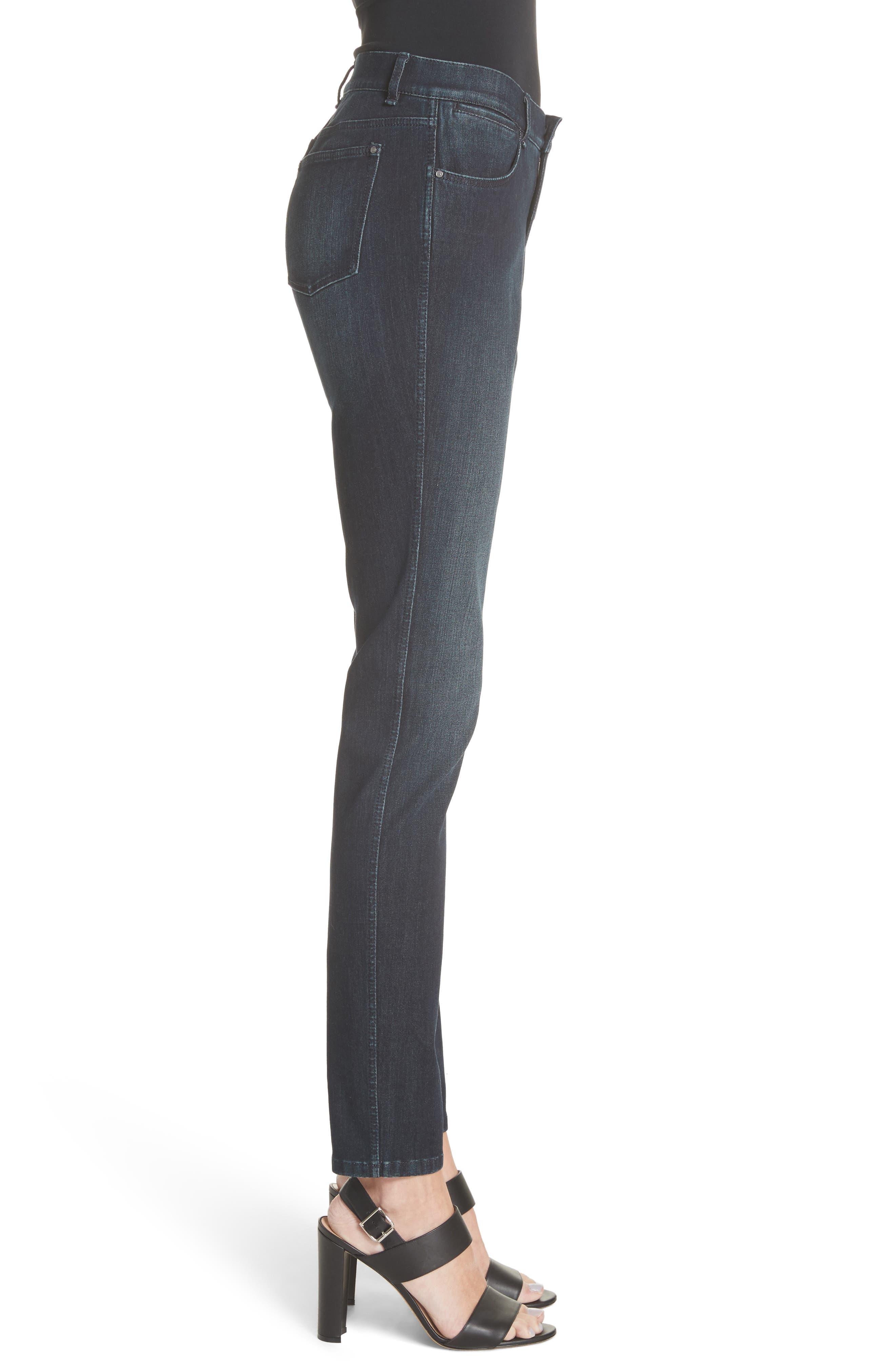 Mercer Skinny Jeans,                             Alternate thumbnail 3, color,                             INDIGO