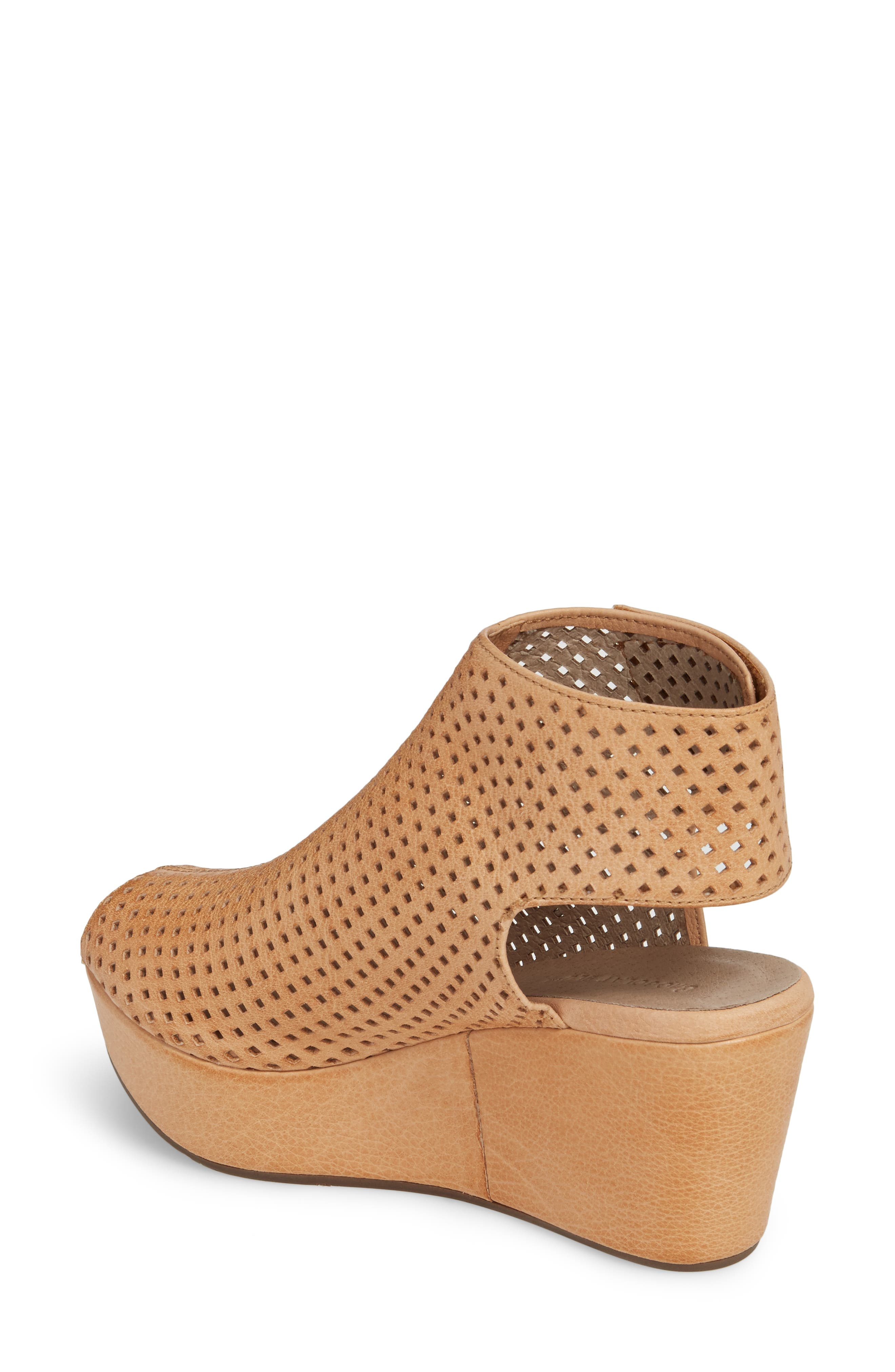 Wing Perforated Platform Wedge,                             Alternate thumbnail 2, color,                             200