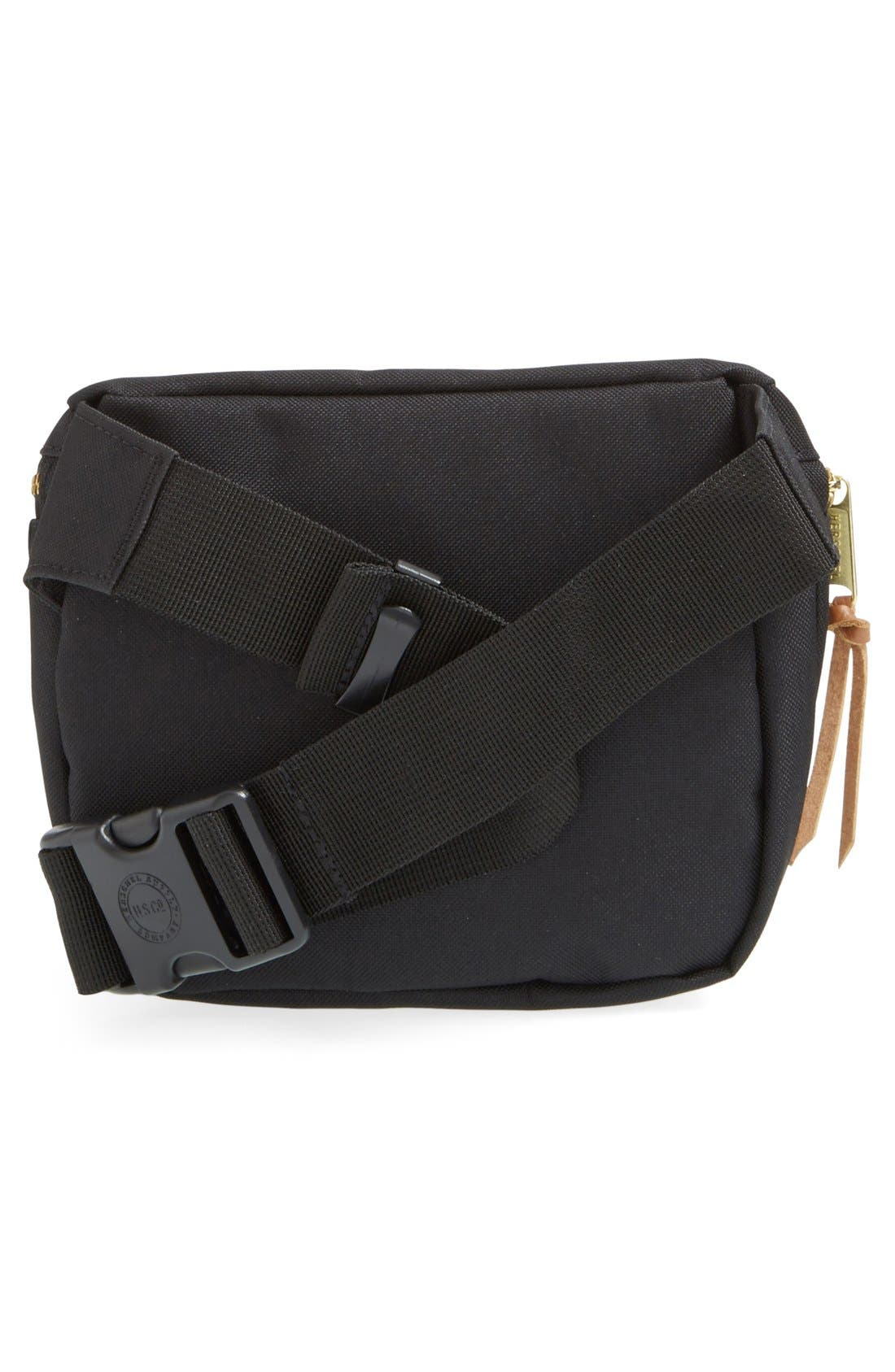 Fifteen Belt Bag,                             Alternate thumbnail 11, color,                             BLACK